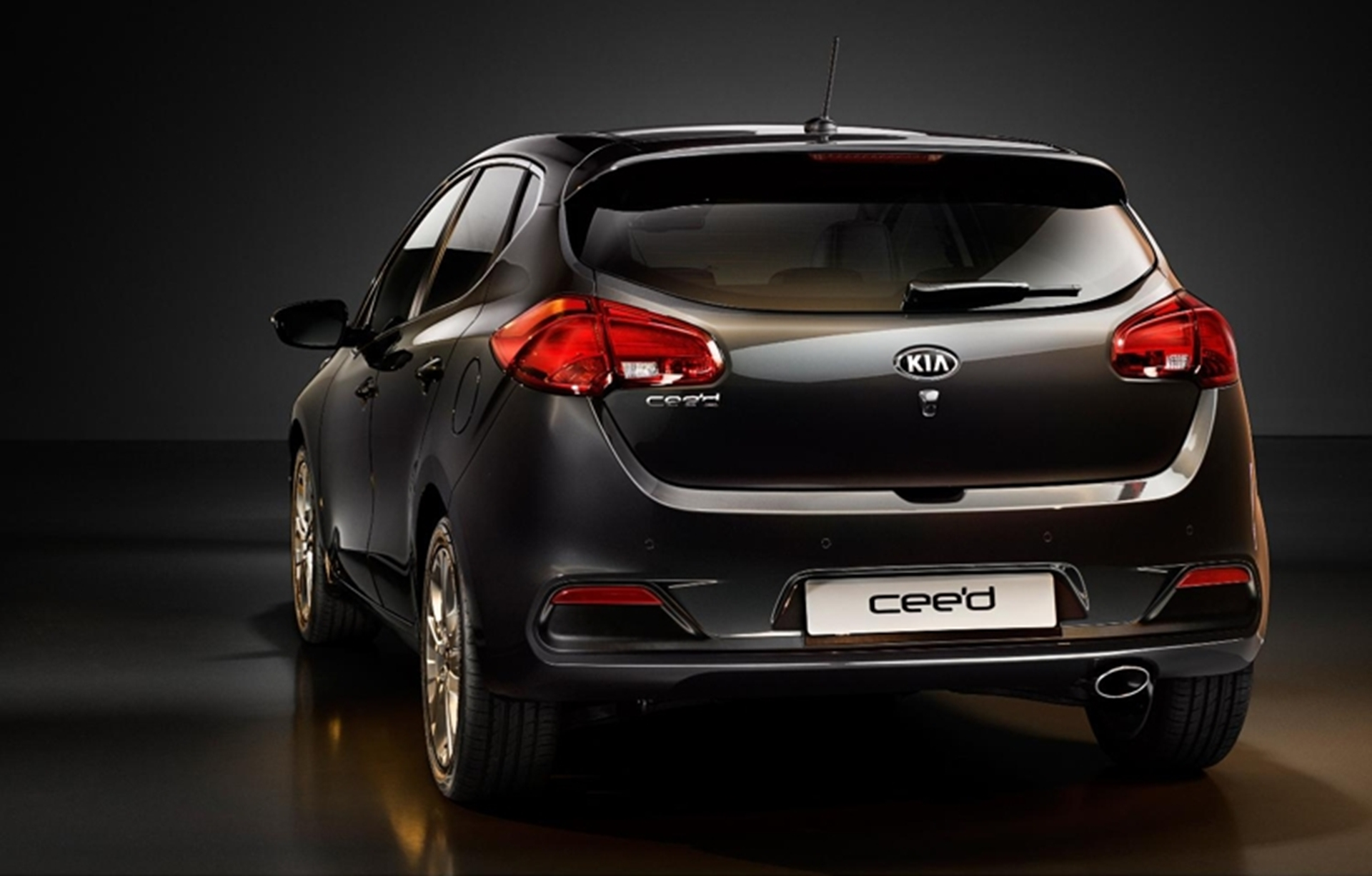 Kia Ceed Rear View