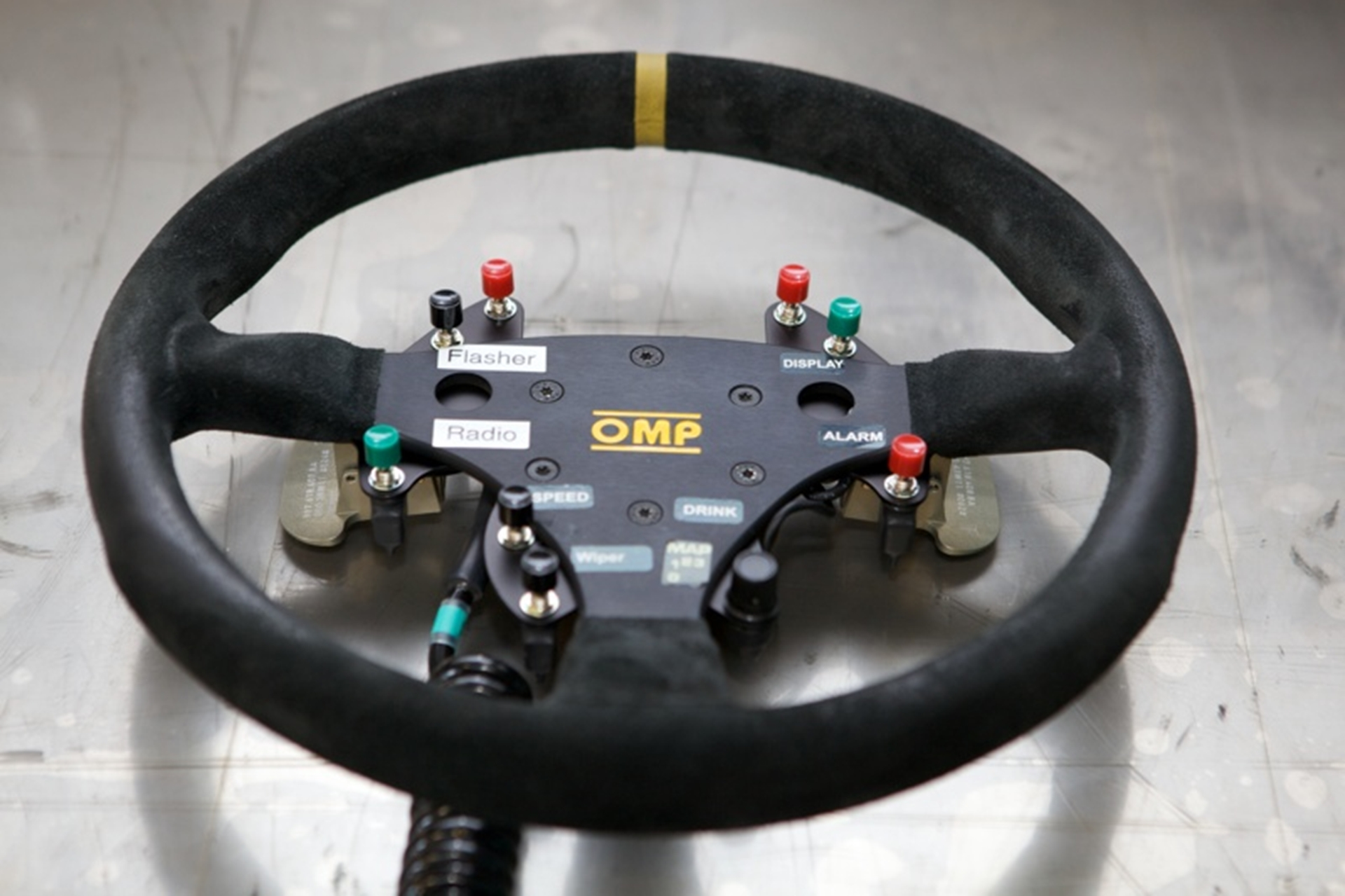 steering wheel with paddle shift