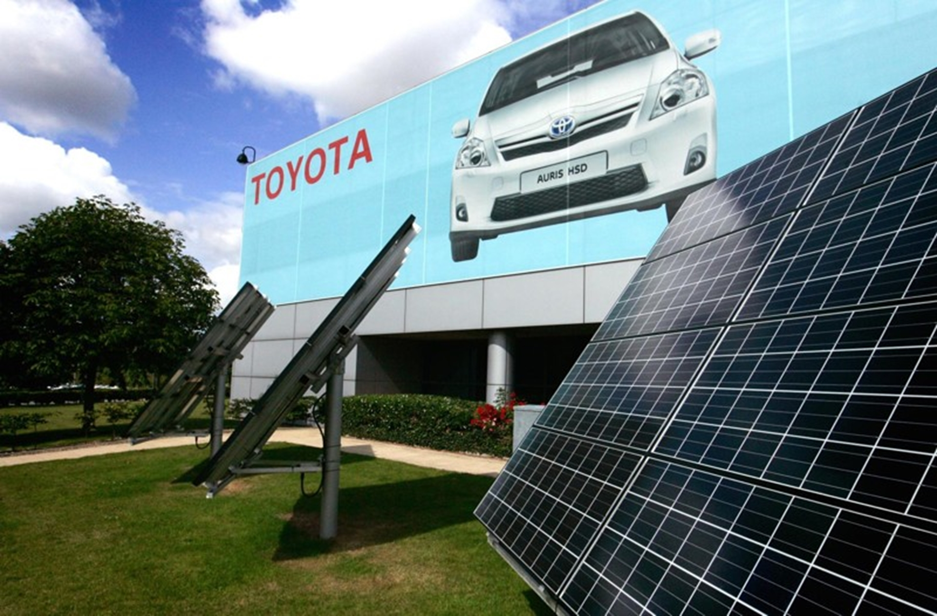 Toyota Green Manufacturer 2011