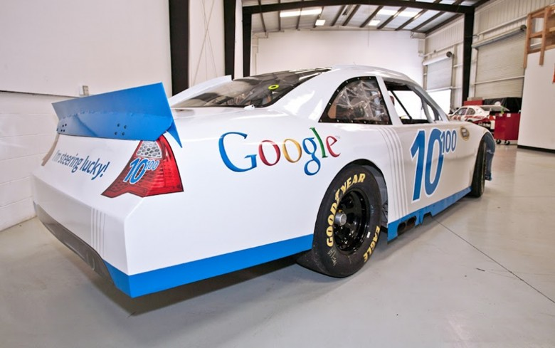 April Fools Joke Nascar Google