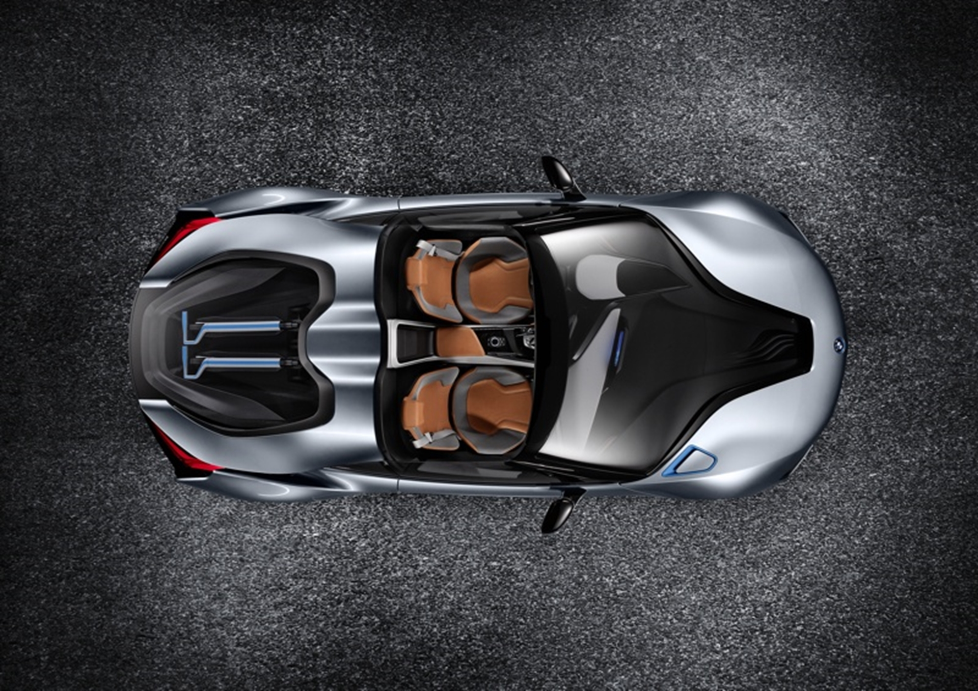 Bmw I8 Concept Spyder With Edrive Is An Open Top Two Seater