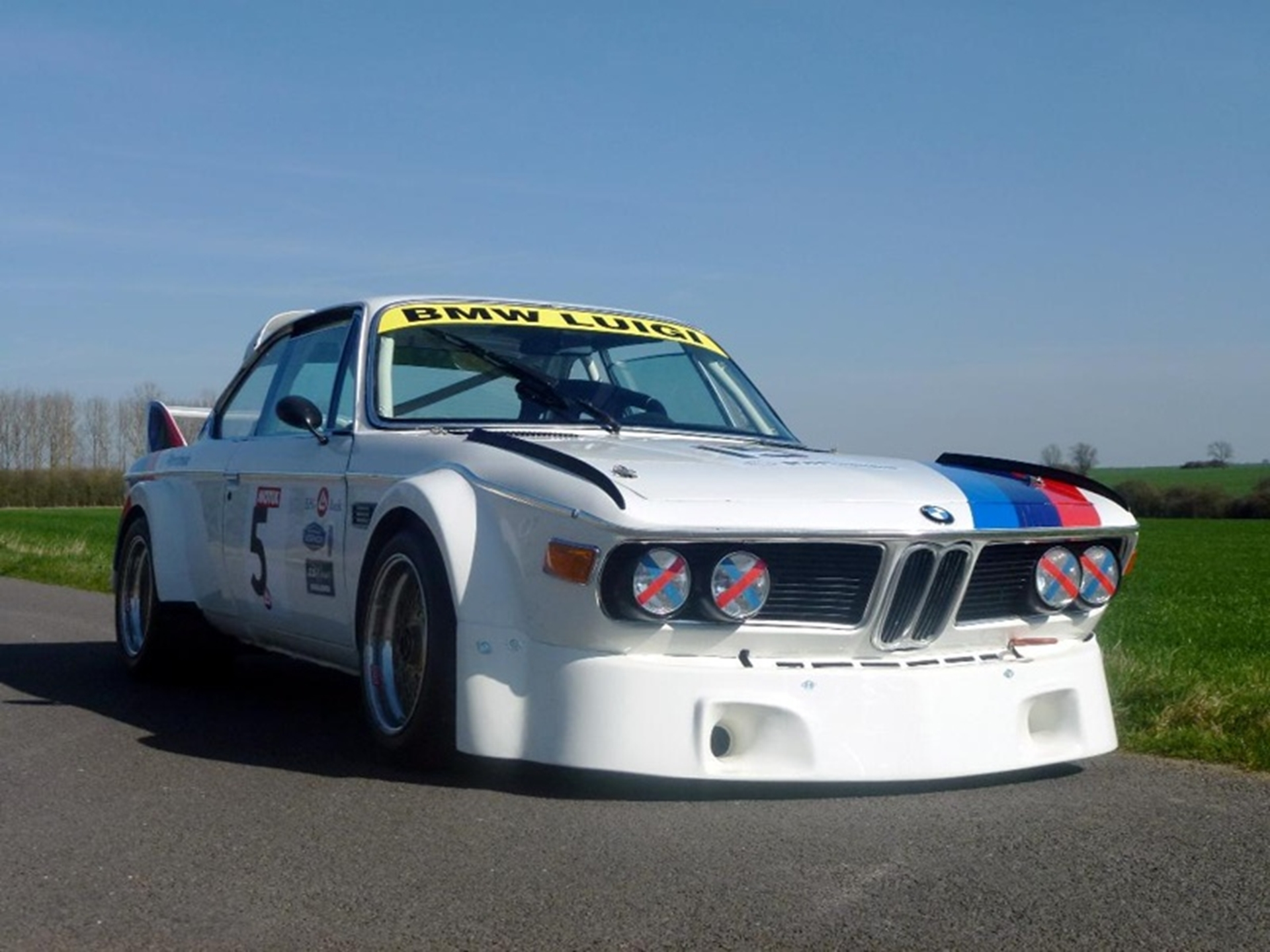 BMW Batmobile race car
