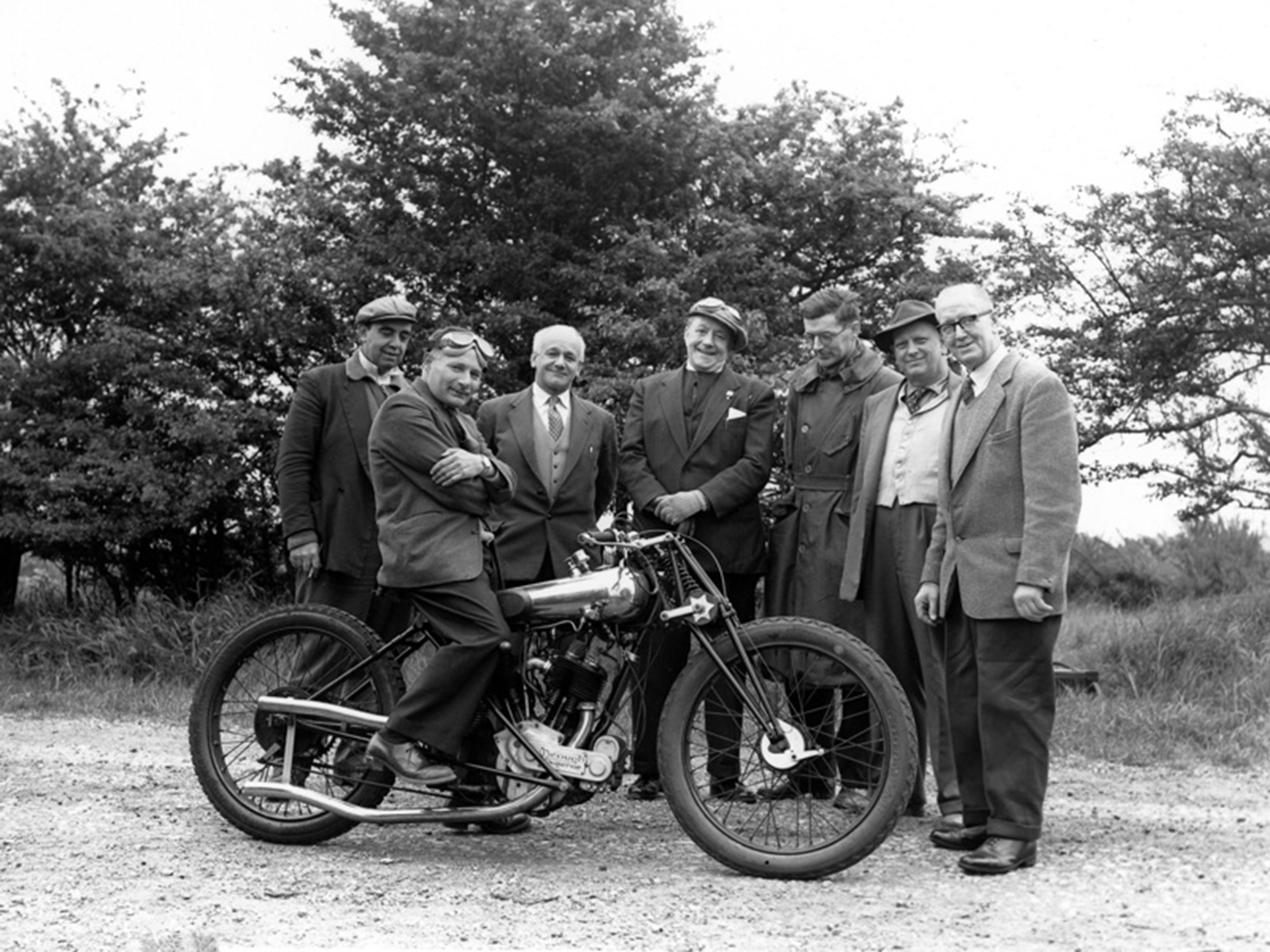 George Brough Motorcycle