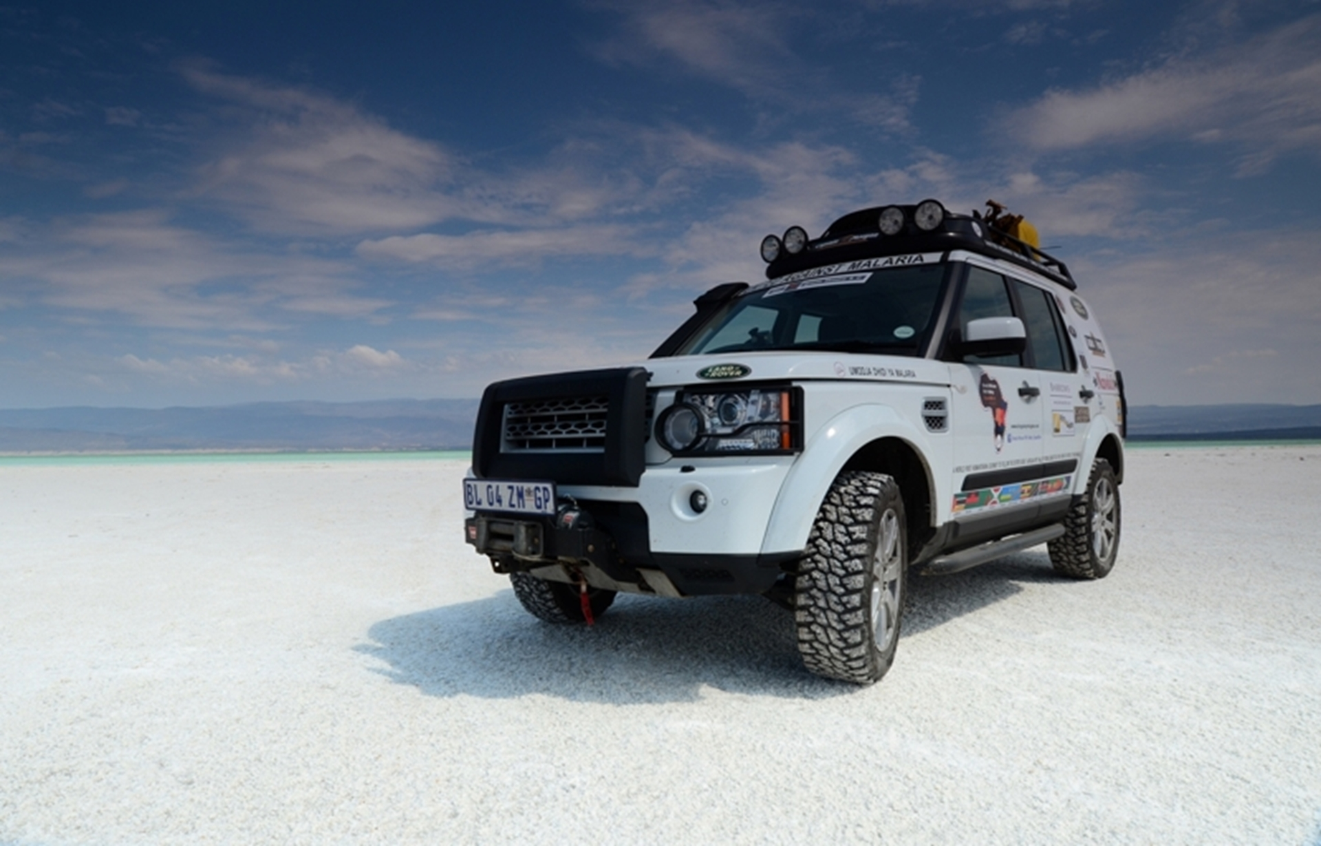 Land Rover Expedition China