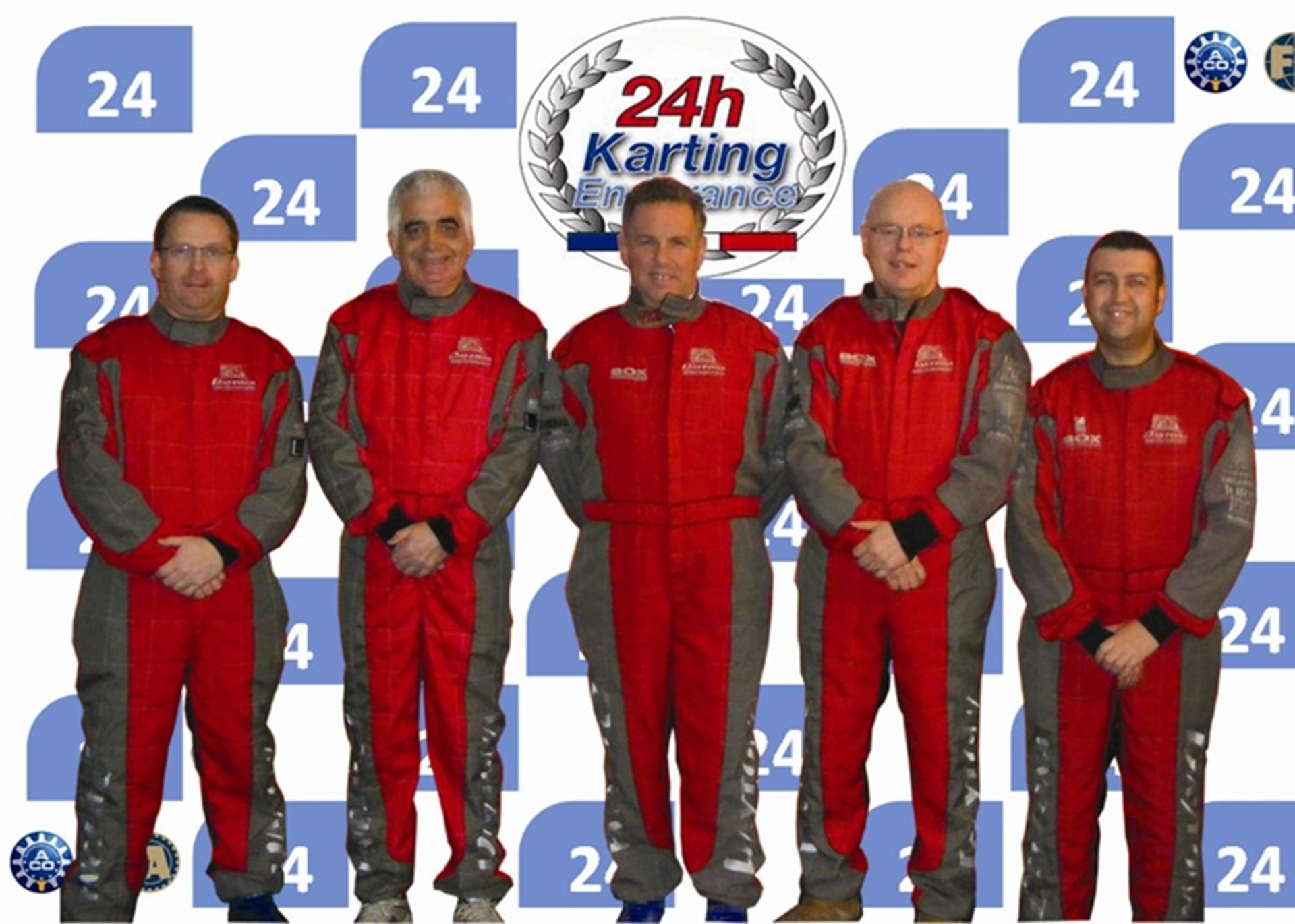 Le Mans Karting team