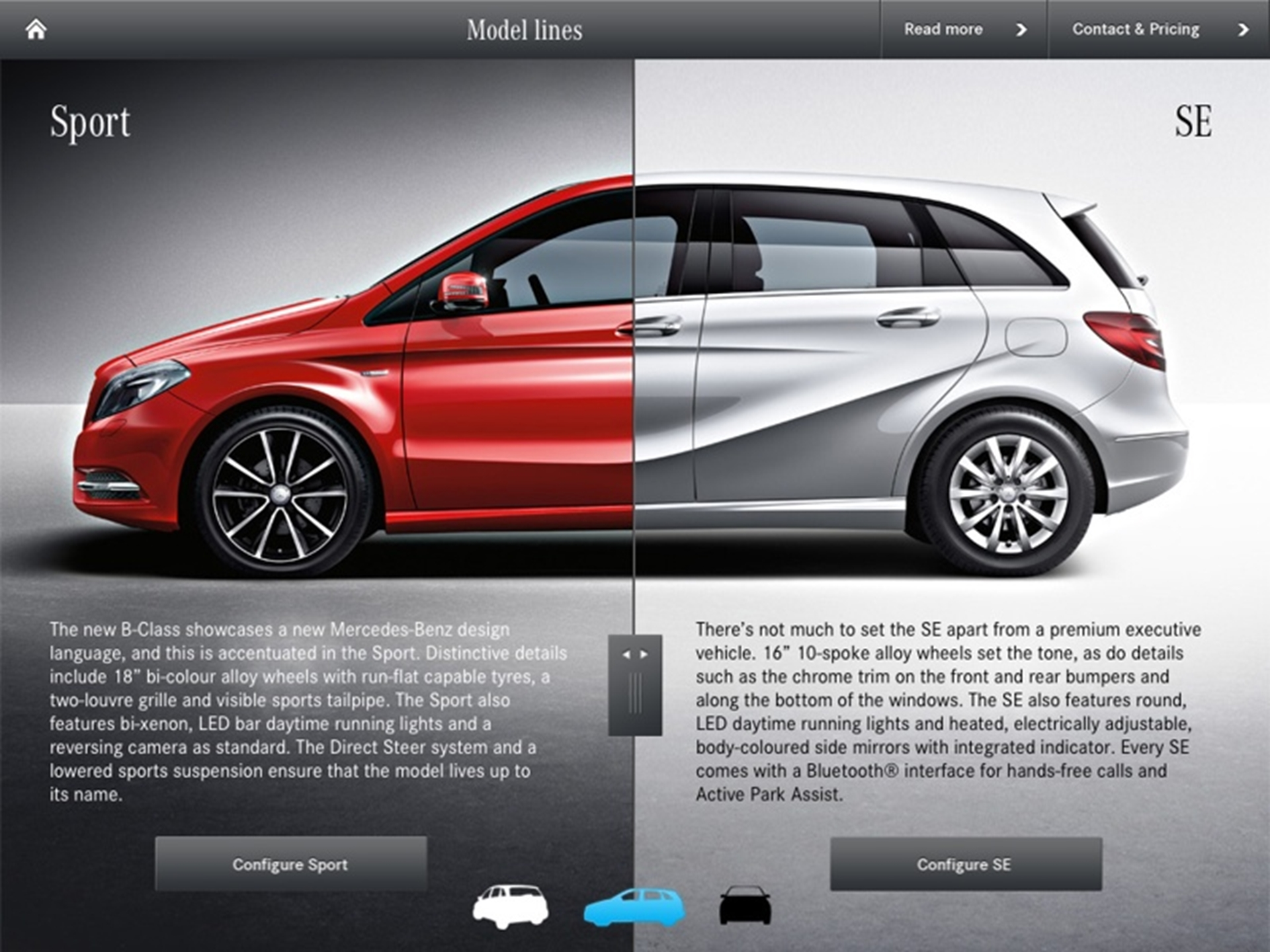 NEW B-CLASS IS BROUGHT TO LIFE WITH AUGMENTED REALITY iPAD APP