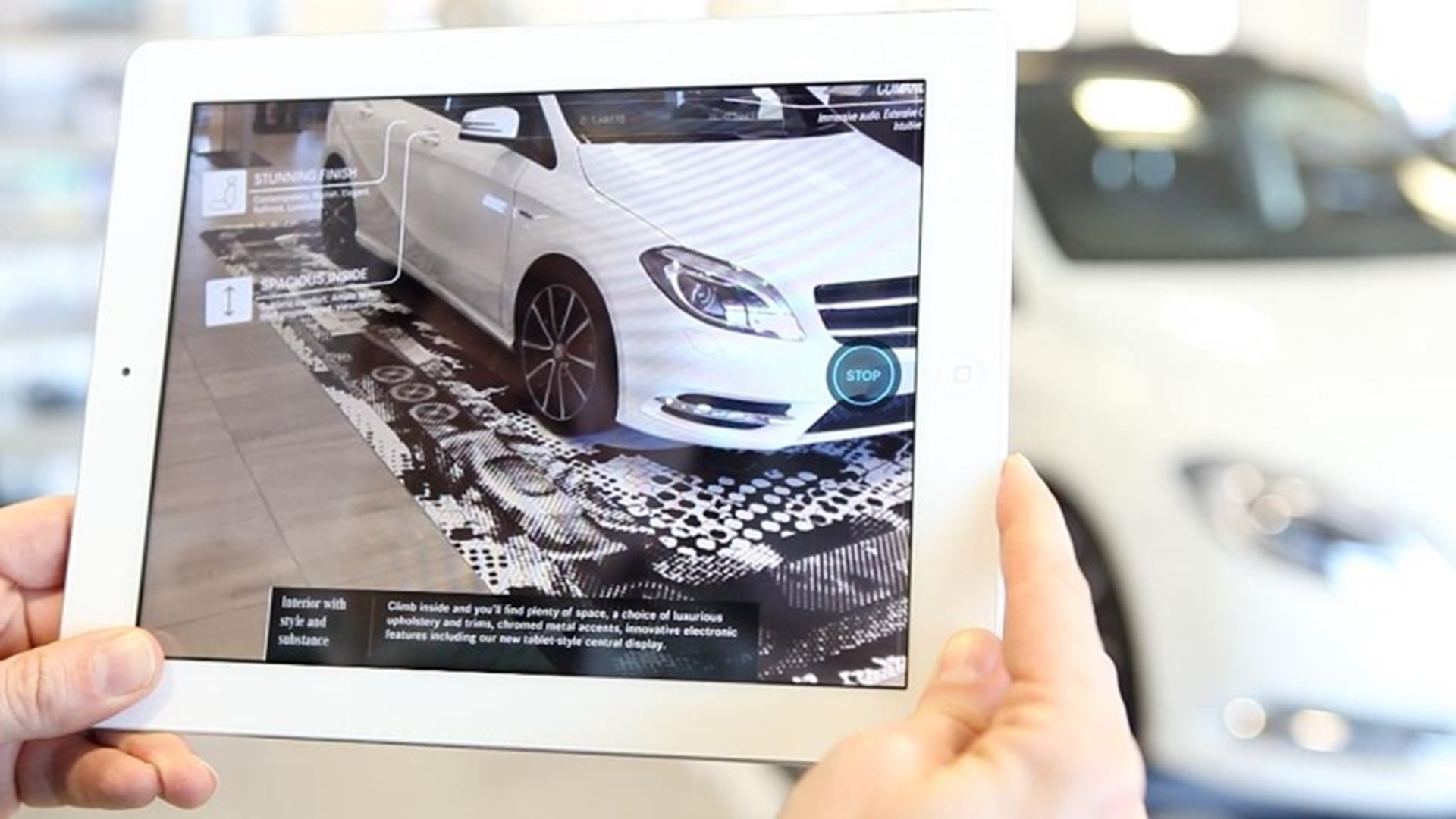 Mercedes-Benz Ipad app