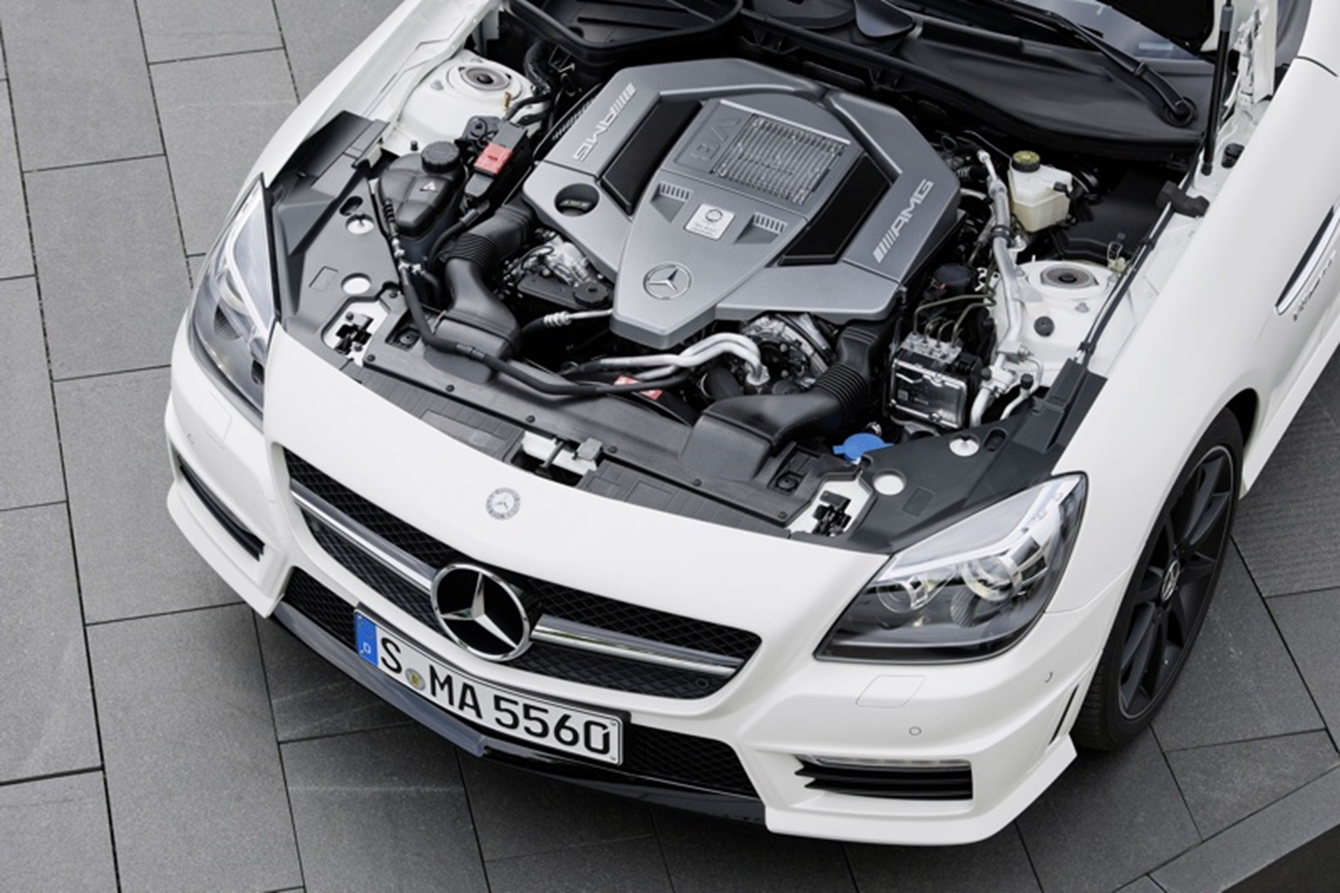 Mercedes-Benz SLK 55 AMG Engine