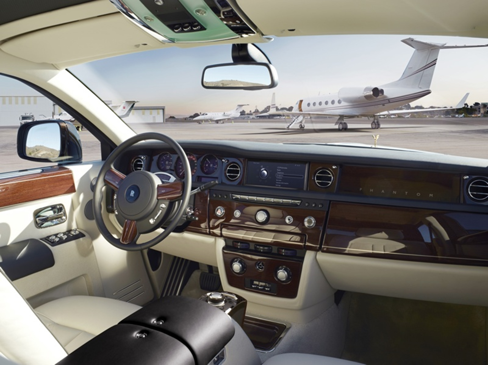 Rolls Royce Phantom Interior 2012