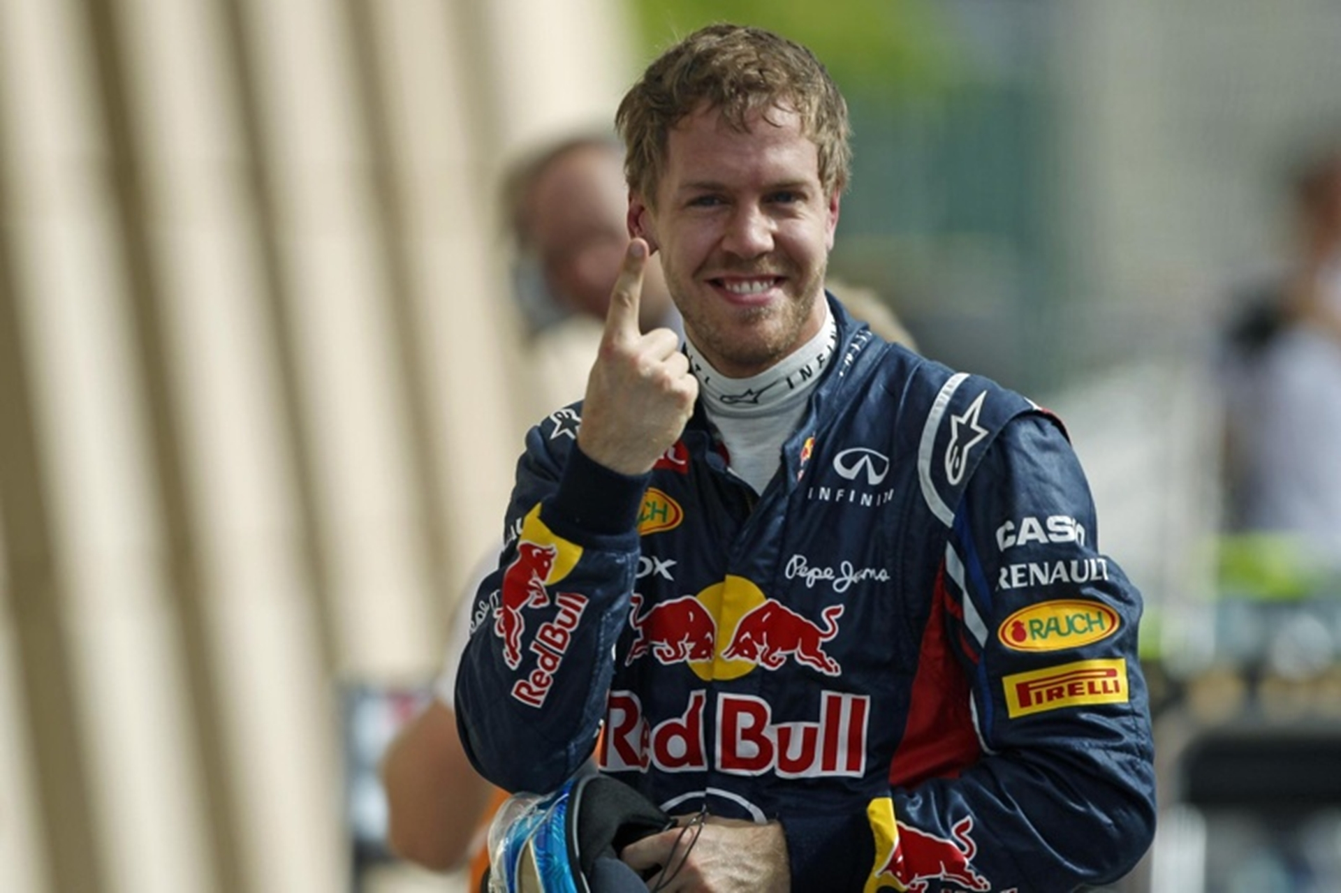 Sebastian Vettel wins the Bahrain Grand Prix