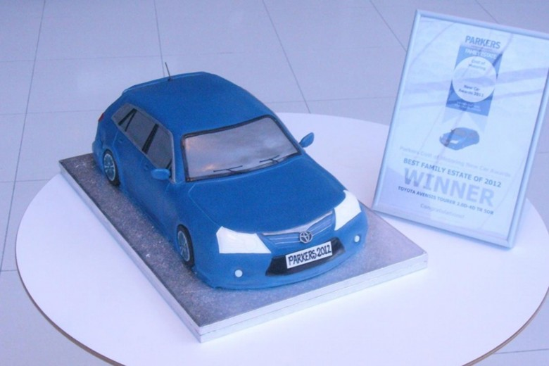 Toyota Avensis Tourer Winning Is A Piece Of Cake