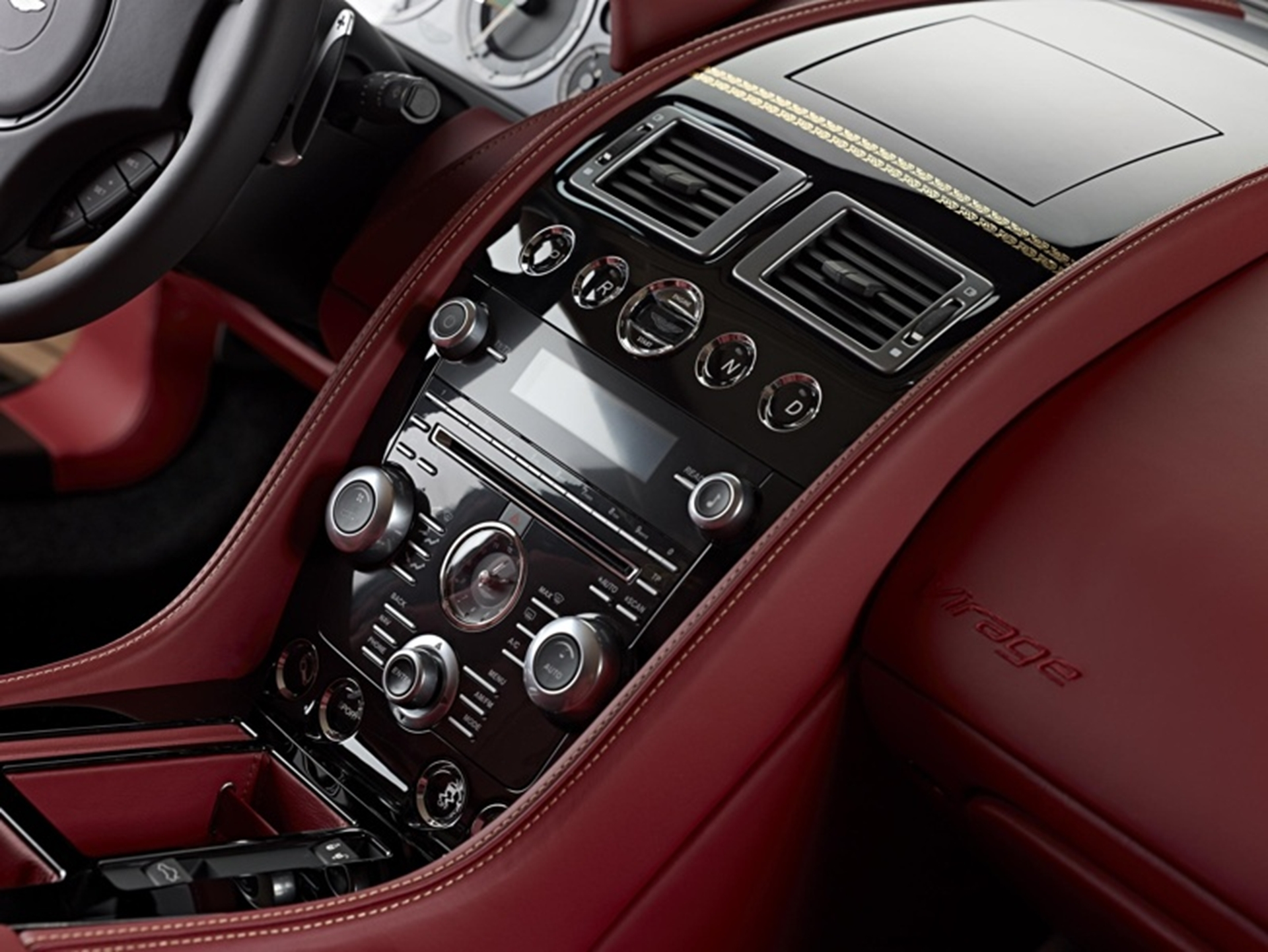 Aston Martin 2012 - Dragon 88 Interior