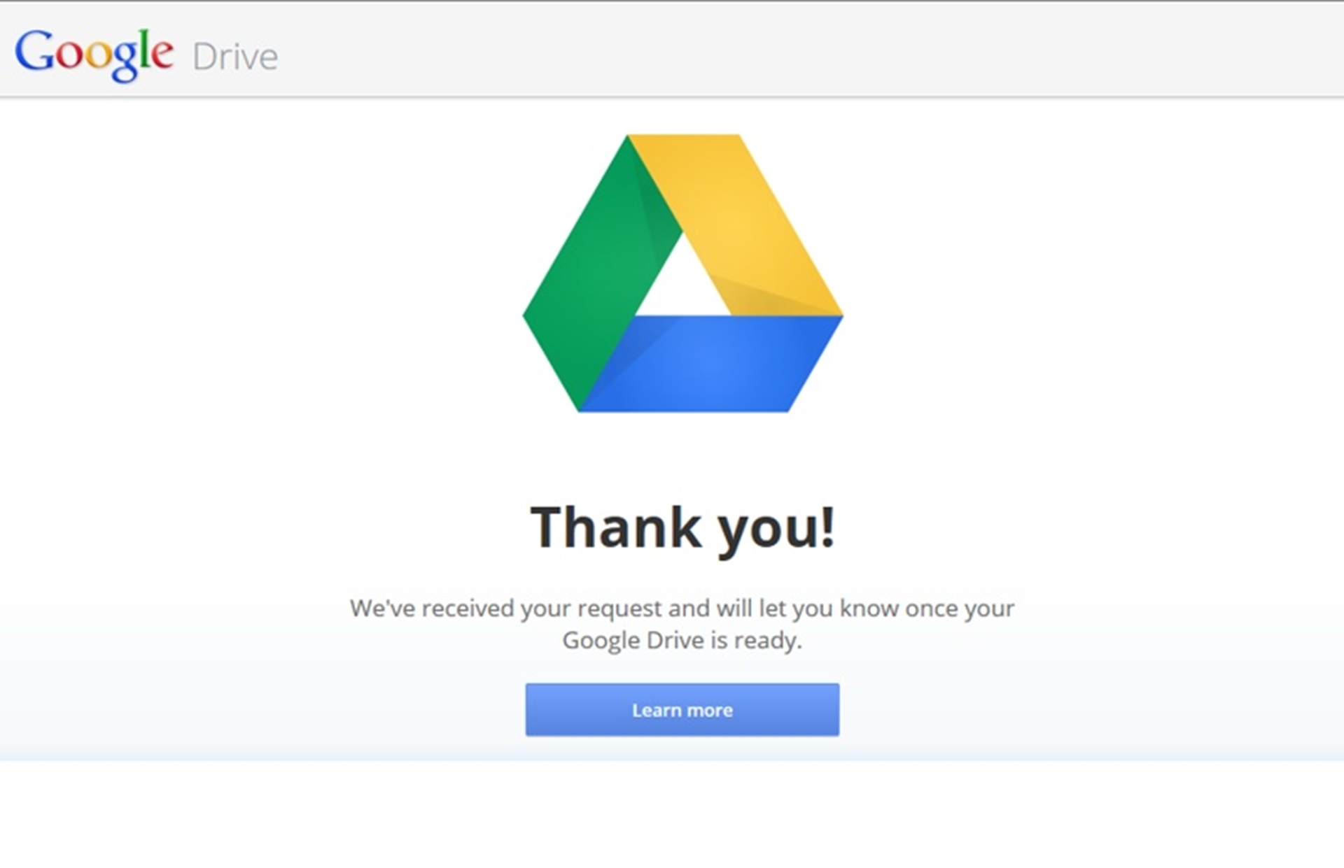 Google Drive Notification