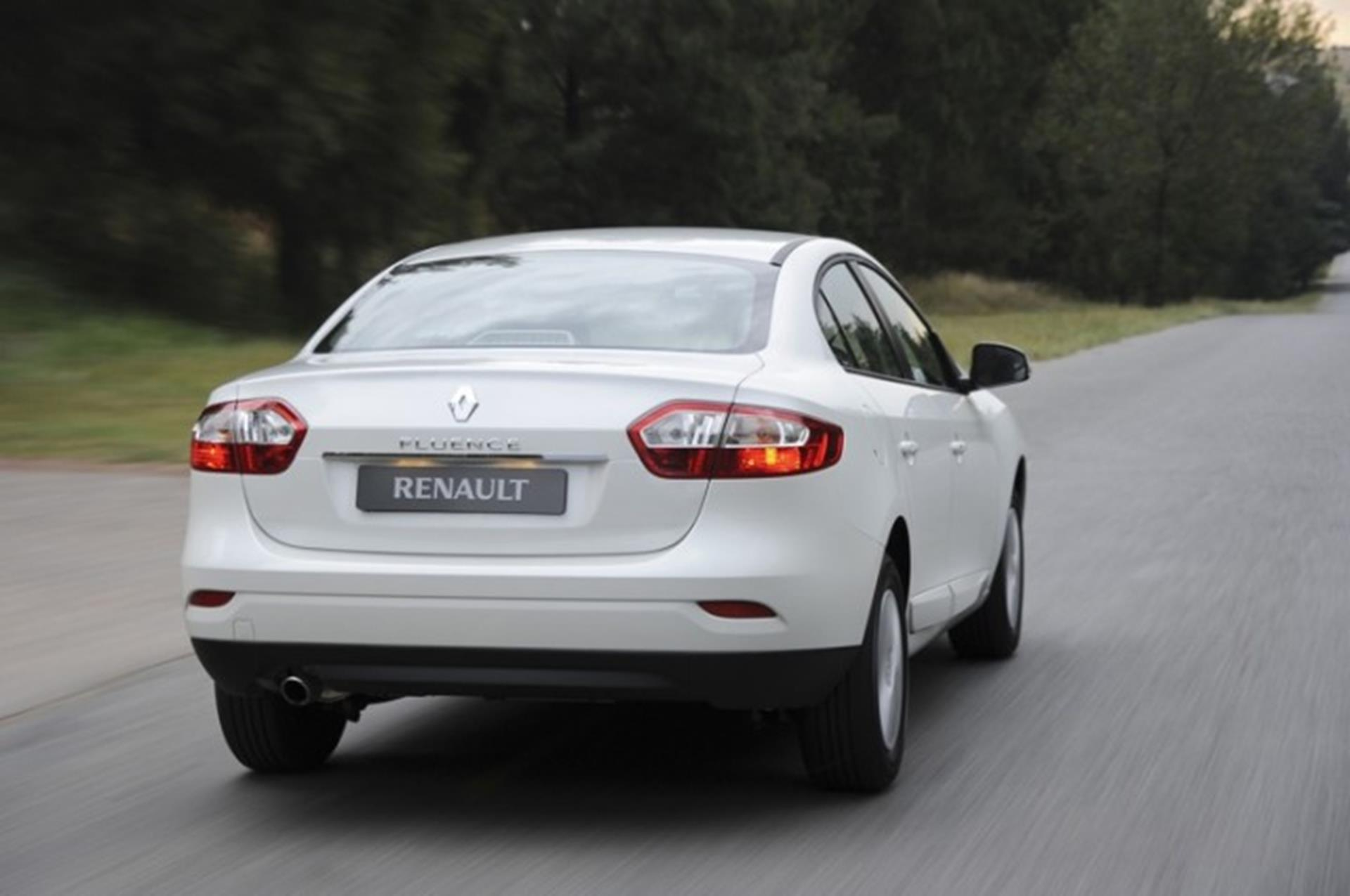 Renaul Fluence Rear
