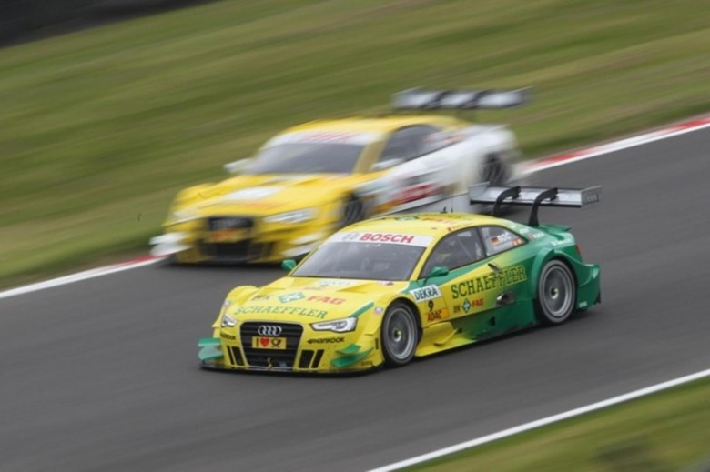 Audi Spielberg the DTM and the Queen