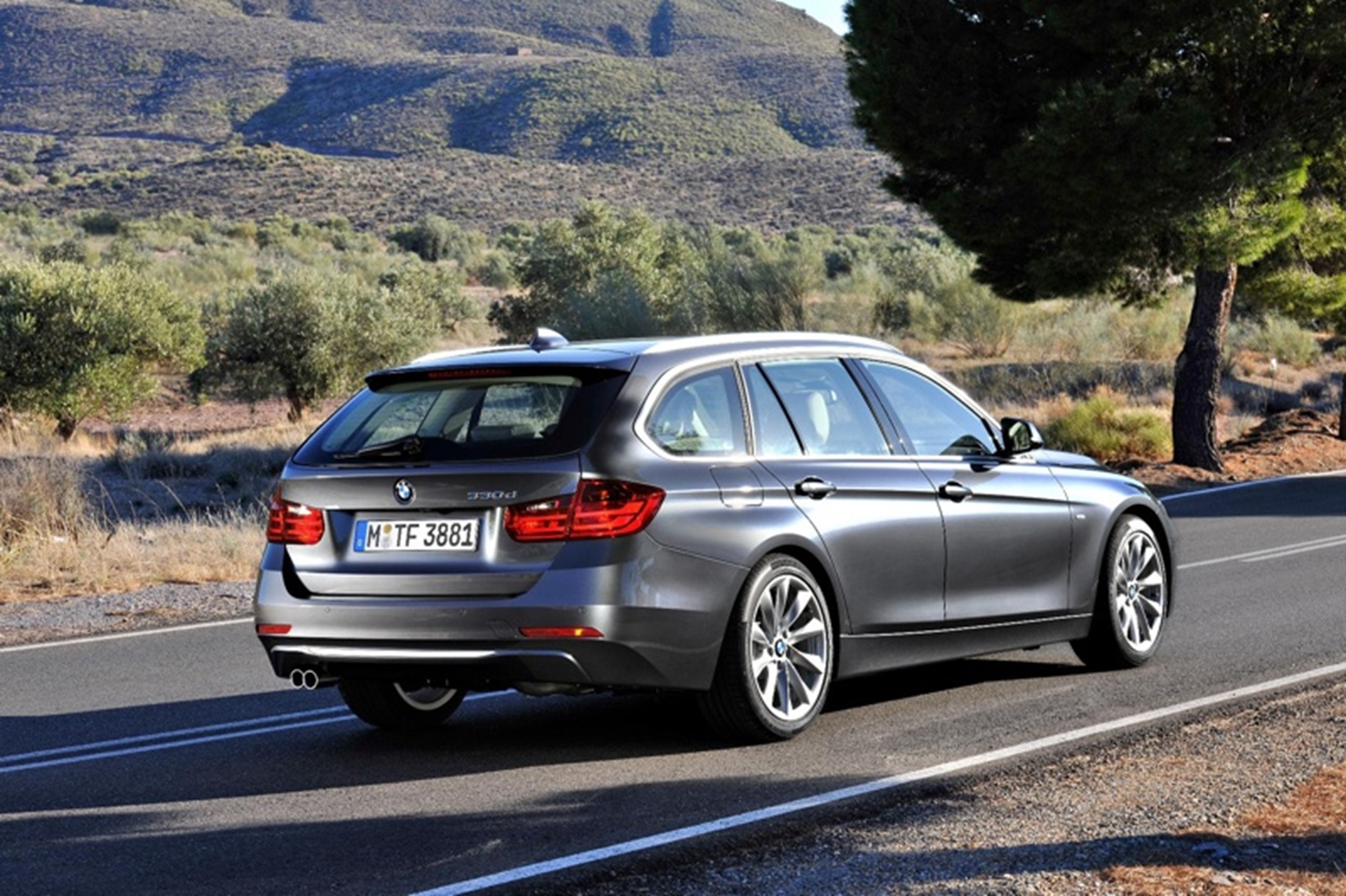 BMW 3 Series Touring 2012