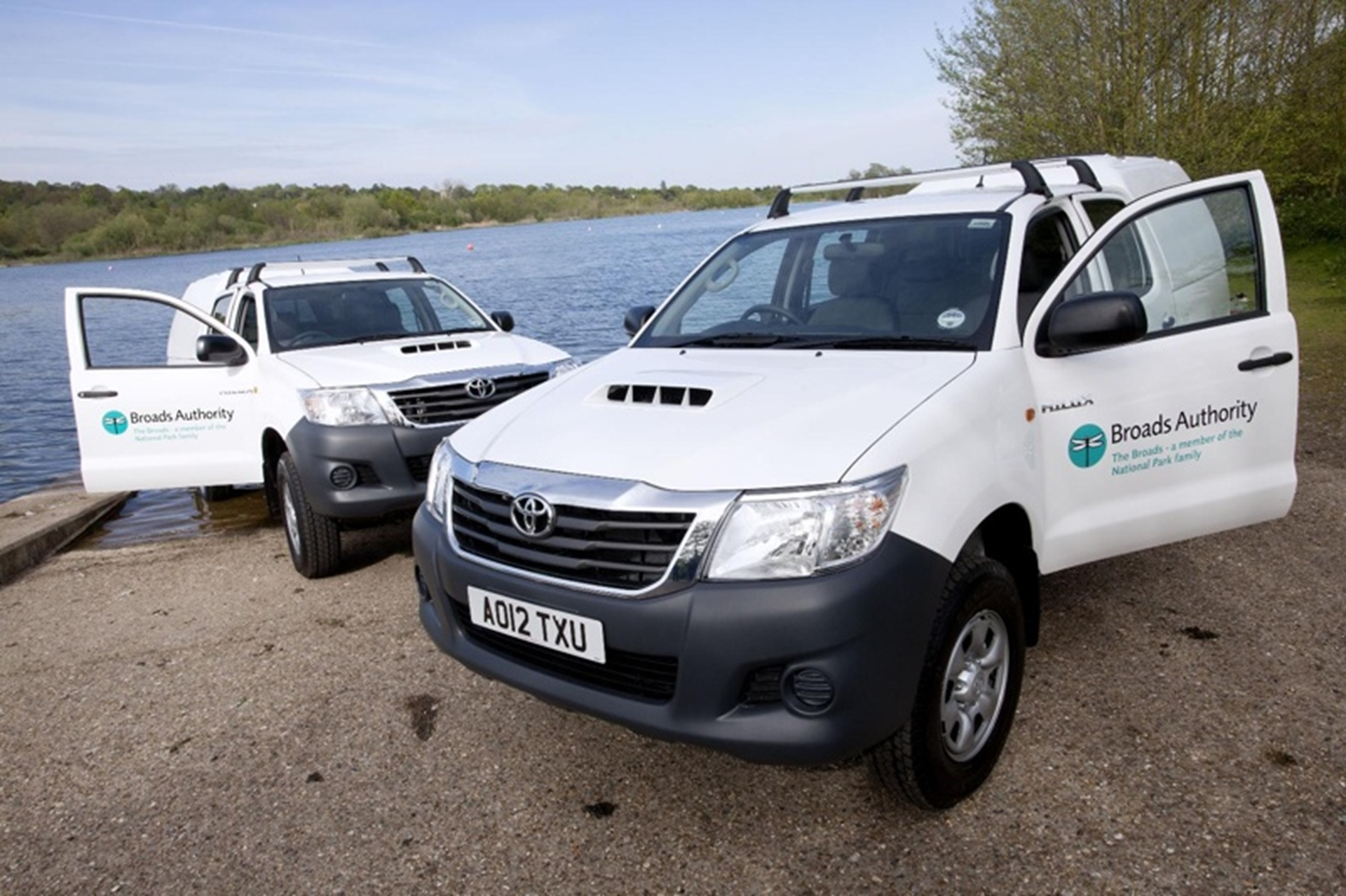 Broads Authority Hilux Fleet