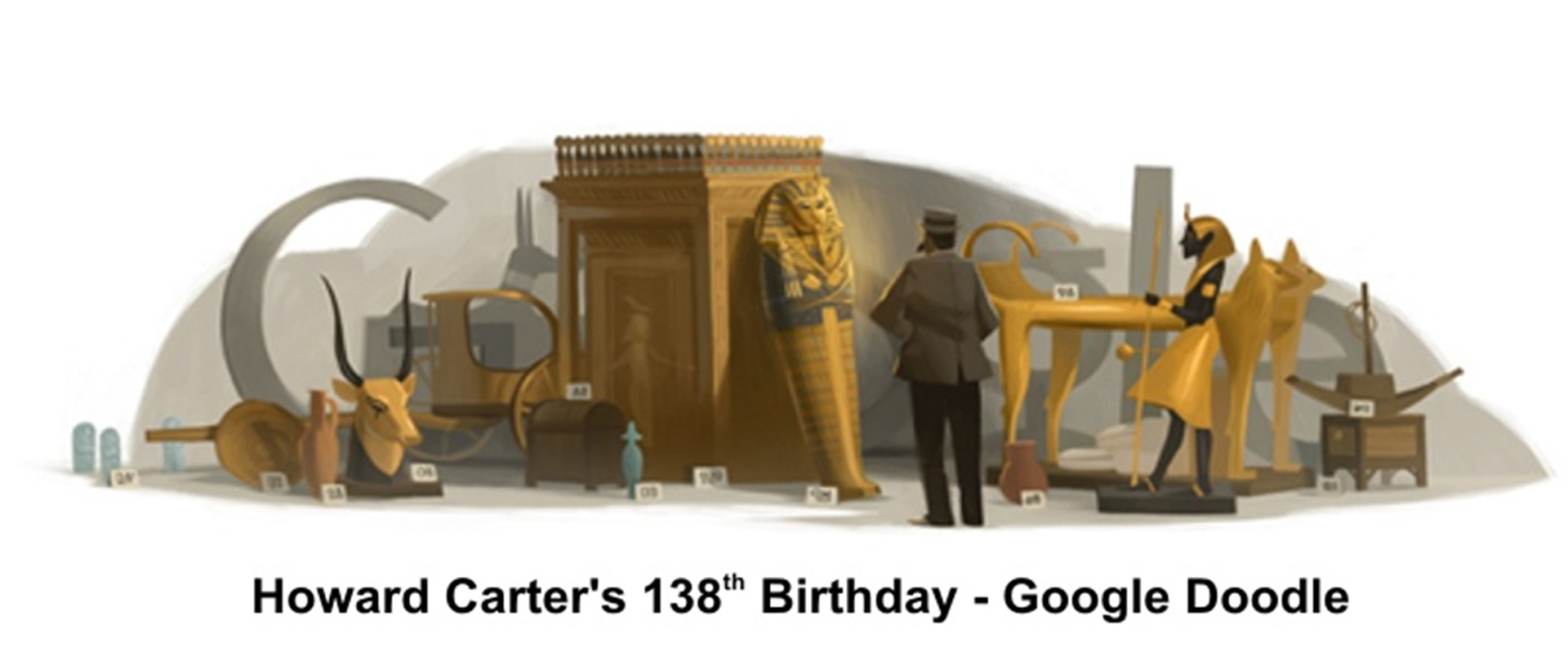 Howard Carters 138th Birthday