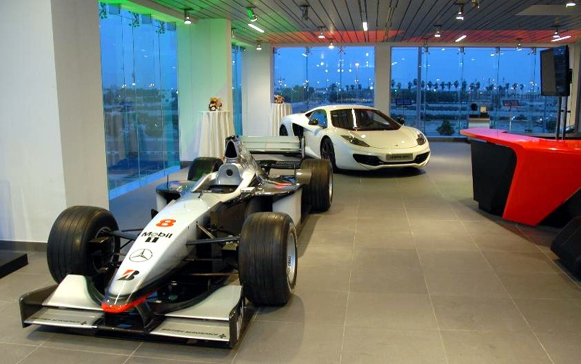 McLaren Jeddah showroom