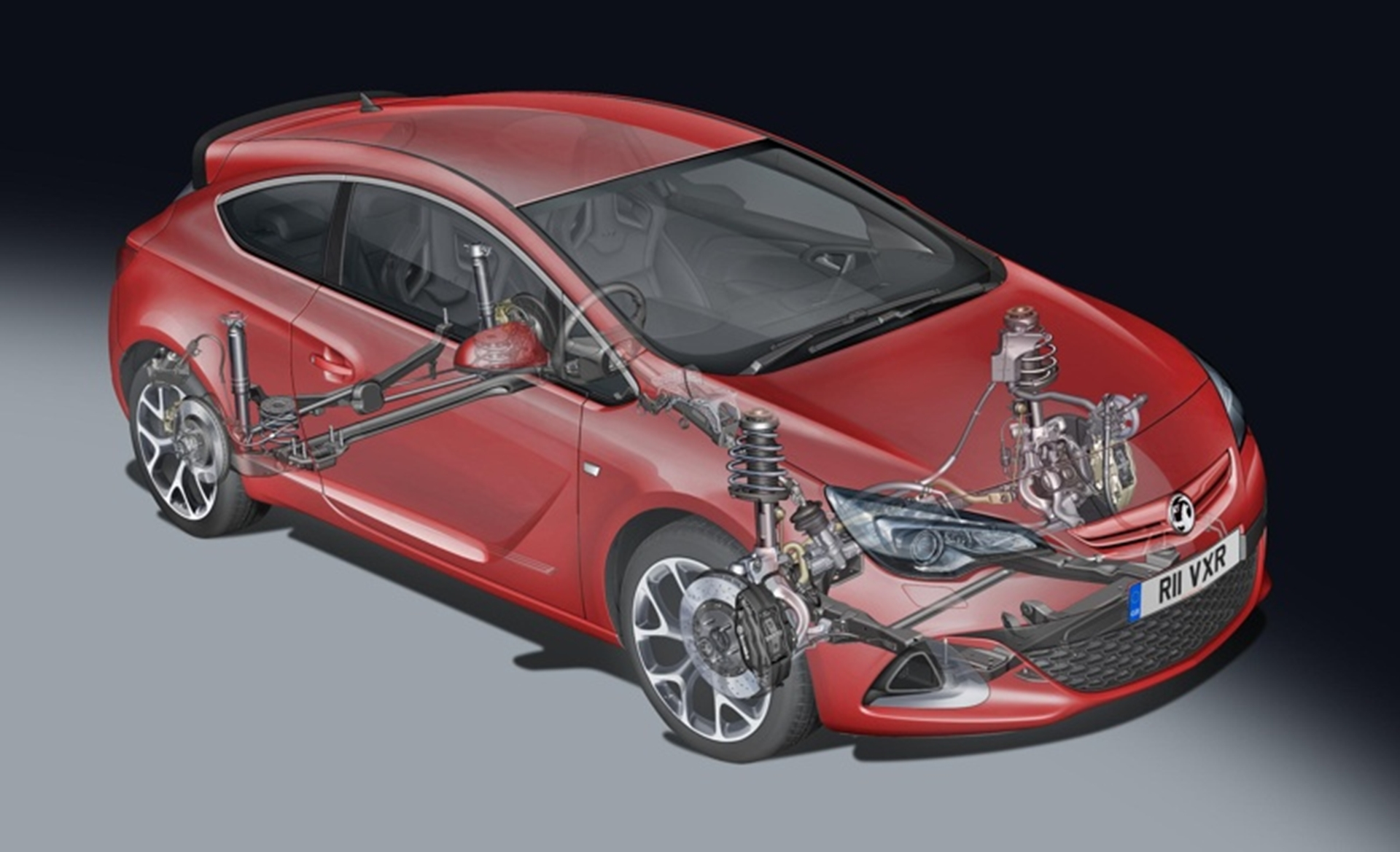 New Vauxhall Astra VXR Torque in-gear without the torque steer