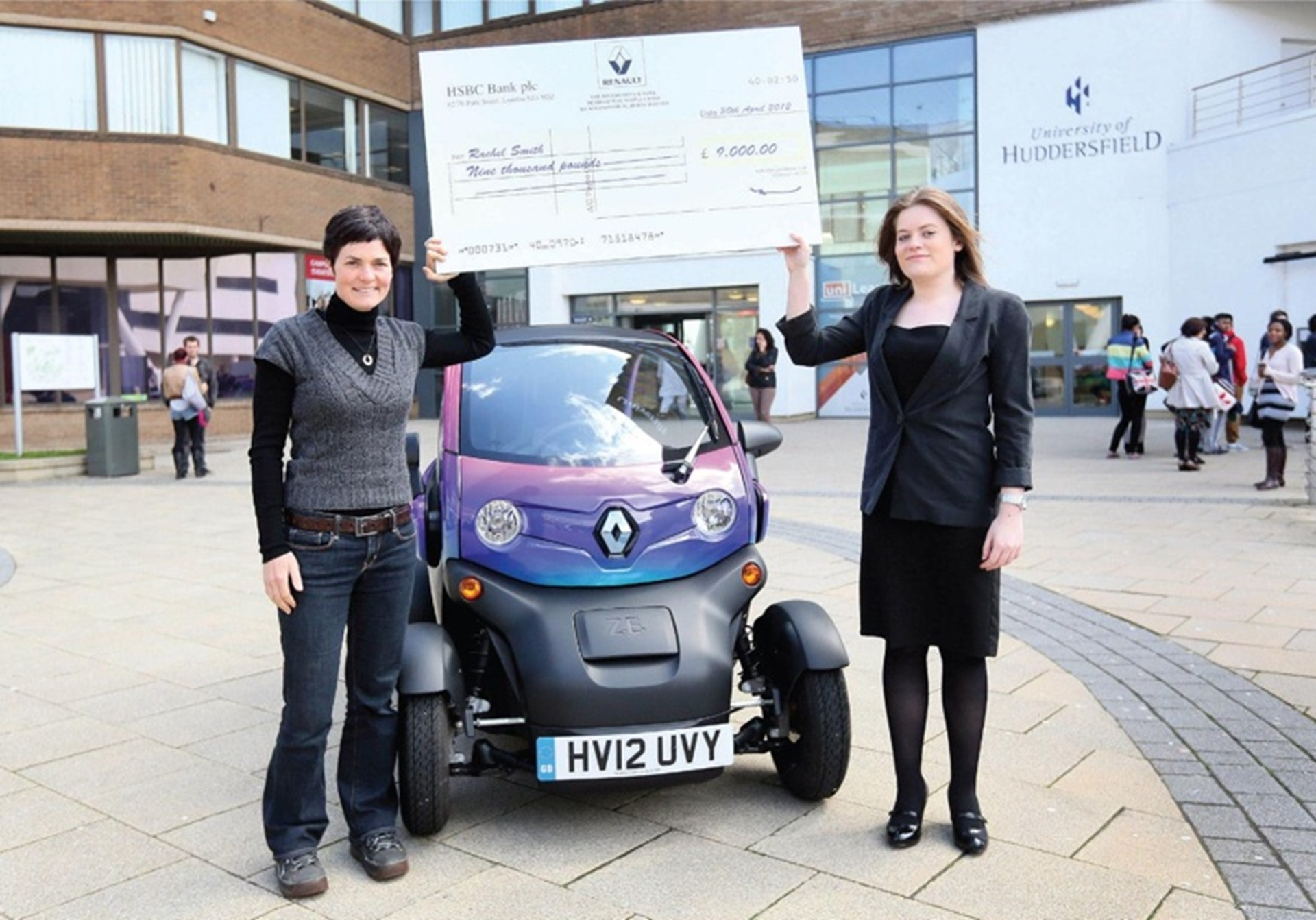 Rachel Smith Renault Winner