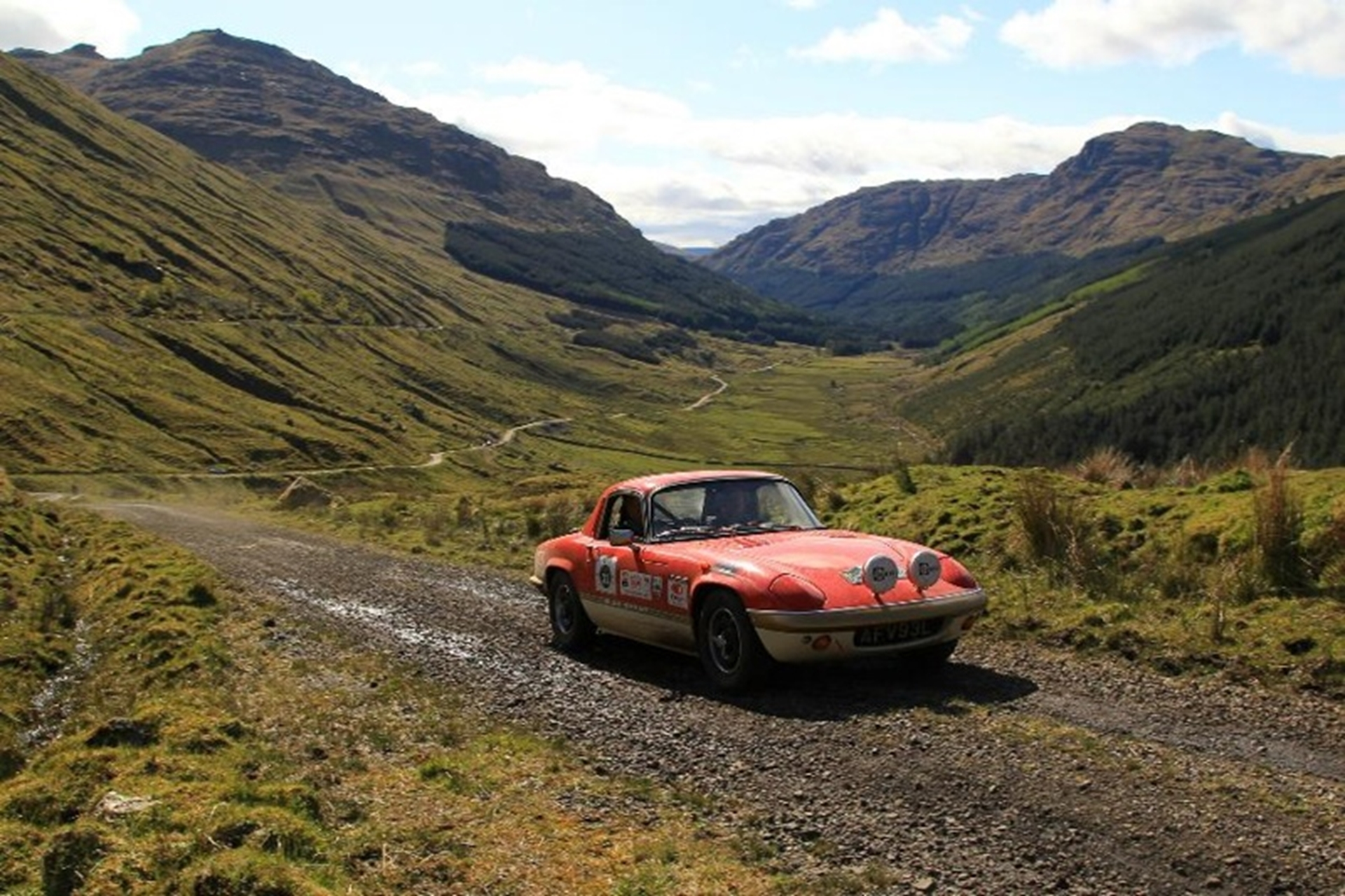 SCOTTISH MALTS RALLY 2012