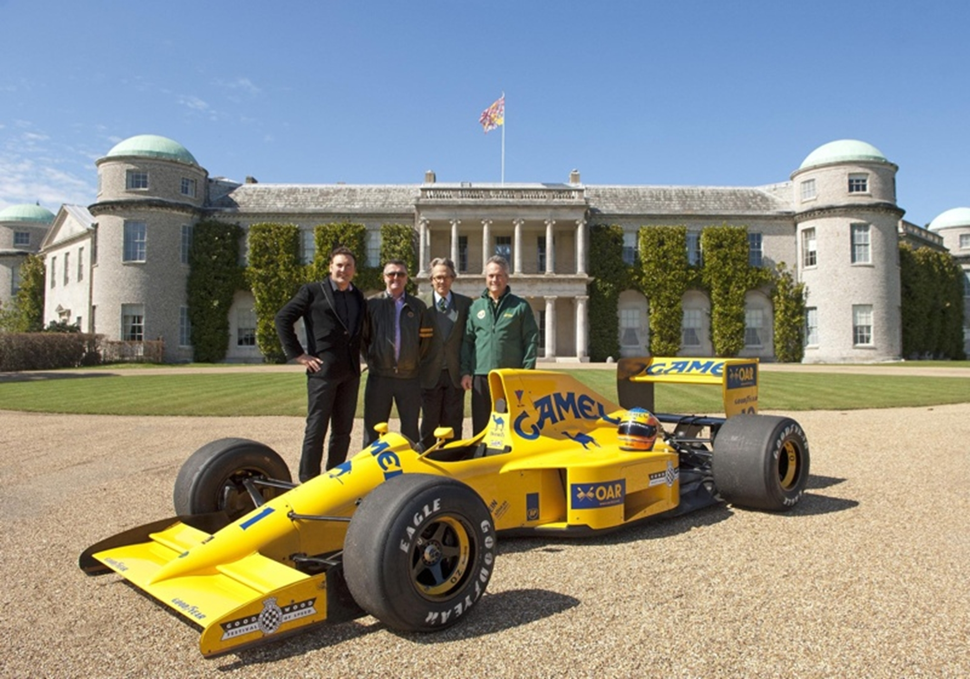 Team Lotus at Goodwood