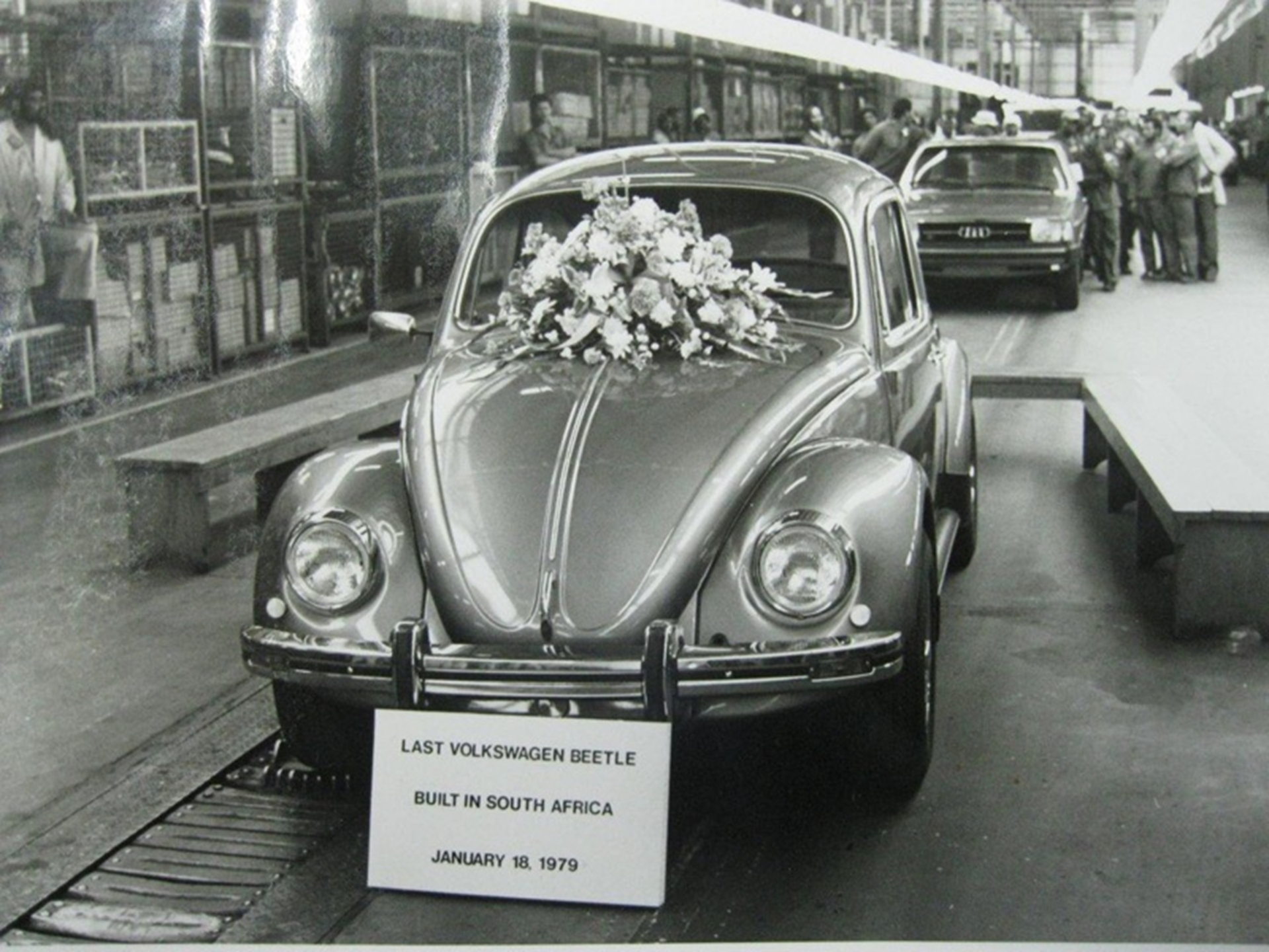 Last Volkswagen Beetle Built In South Africa Restored