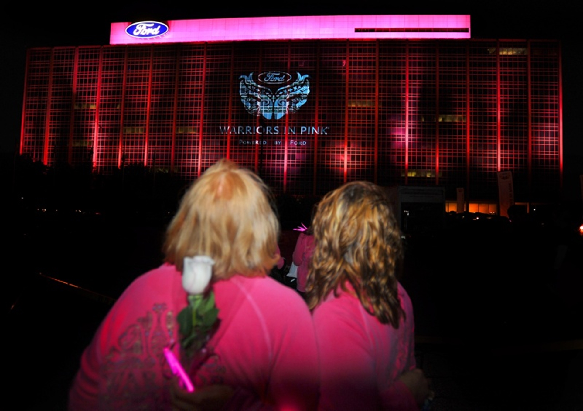 Ford Warriors Pink Cancer