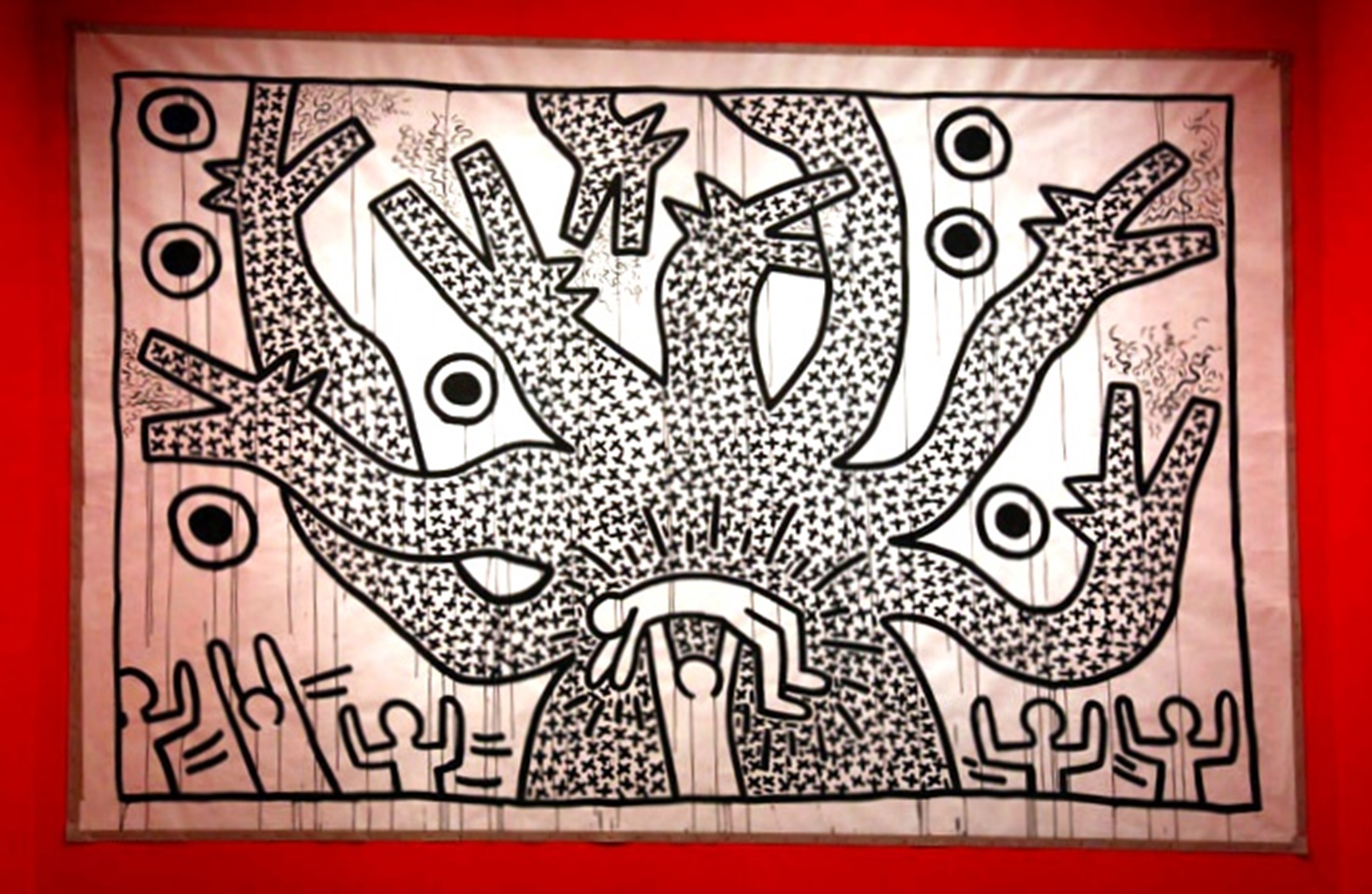 Keith Haring Brooklyn Museum