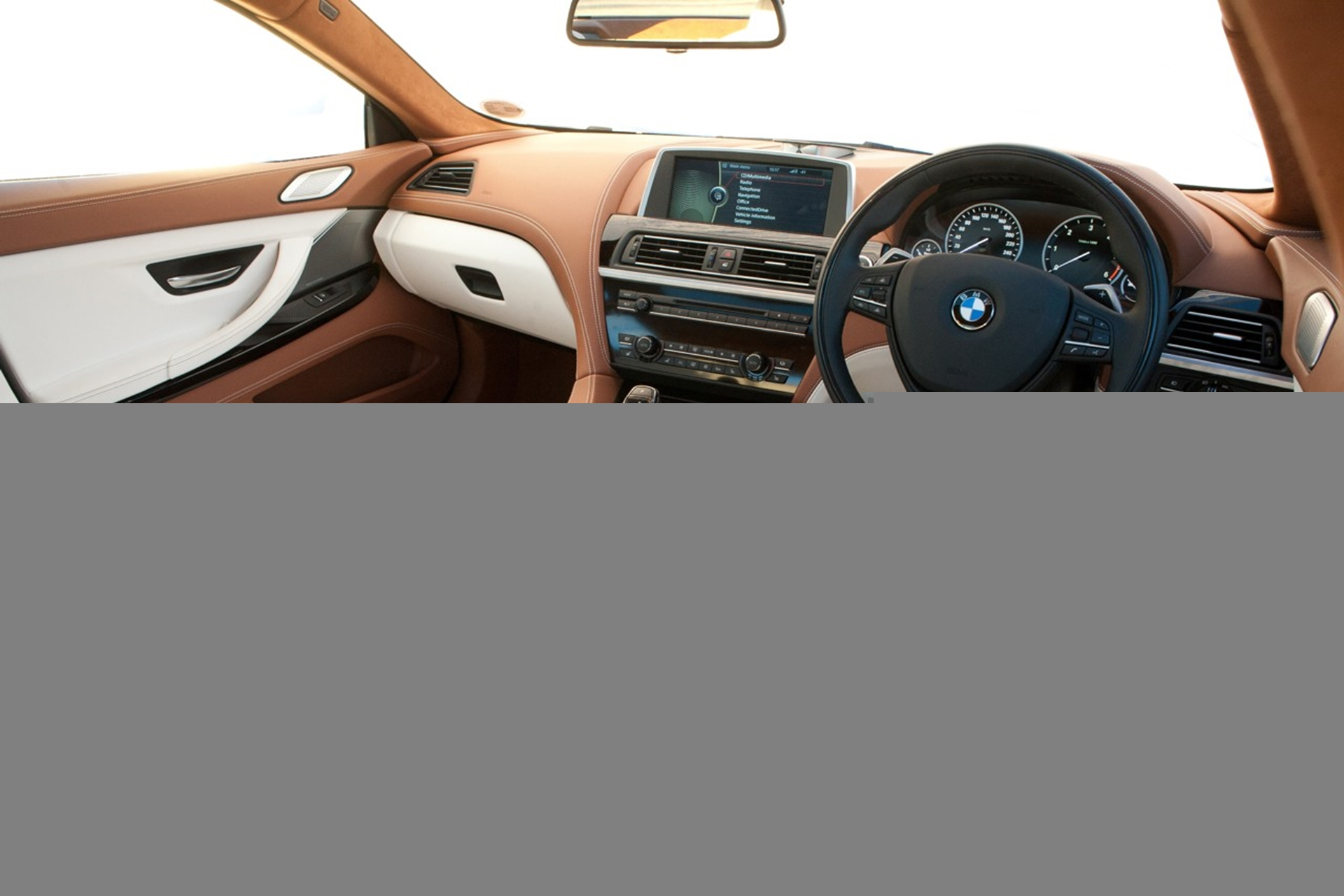 BMW 6 Series Gran Coupe inside