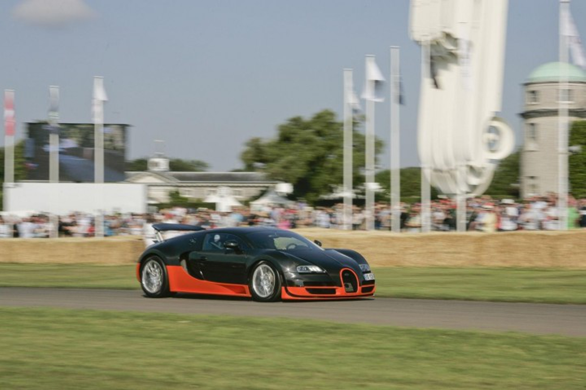 Bugatti Veyron at Goodwood Festival