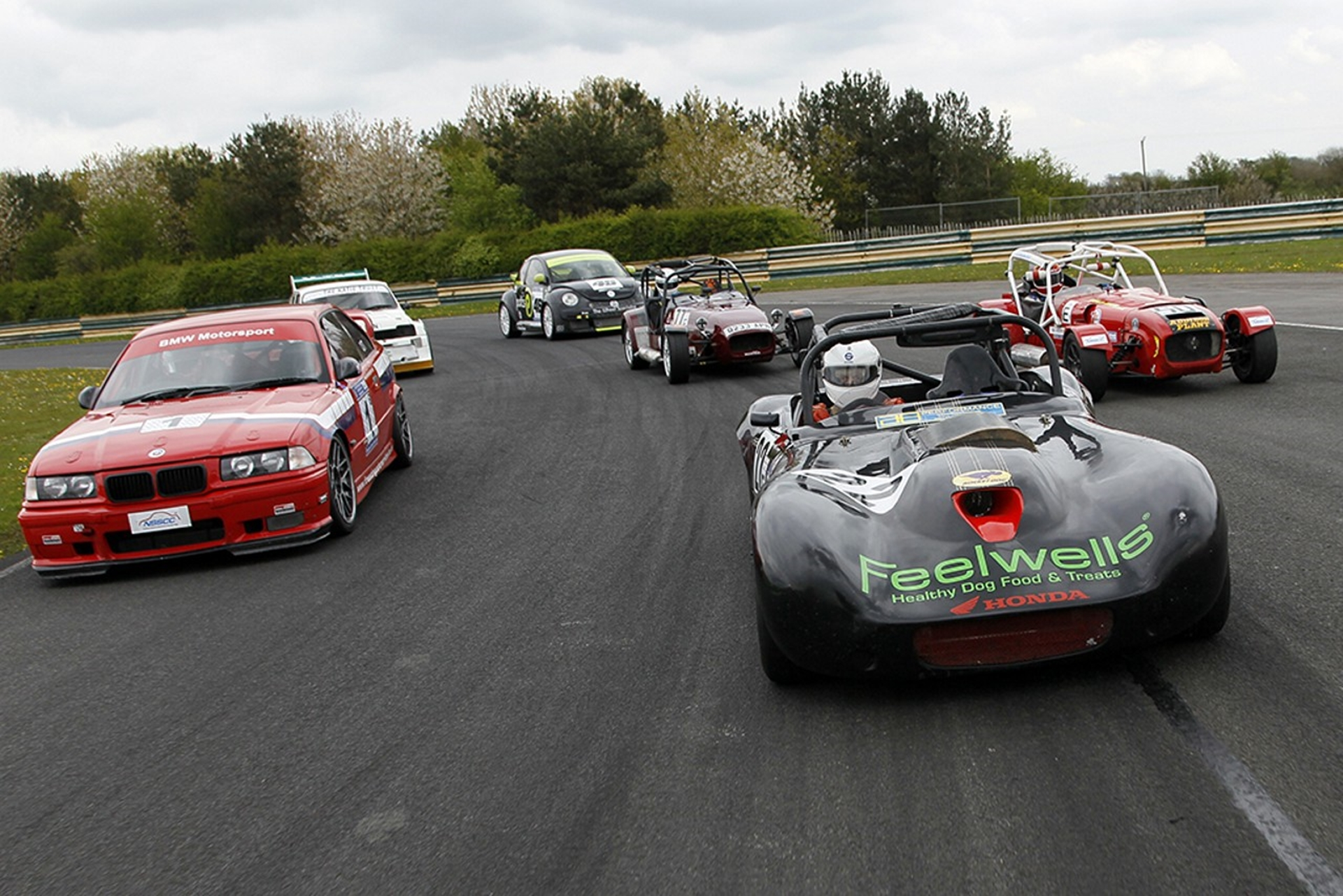 Fast laps for local charity at Croft Circuit