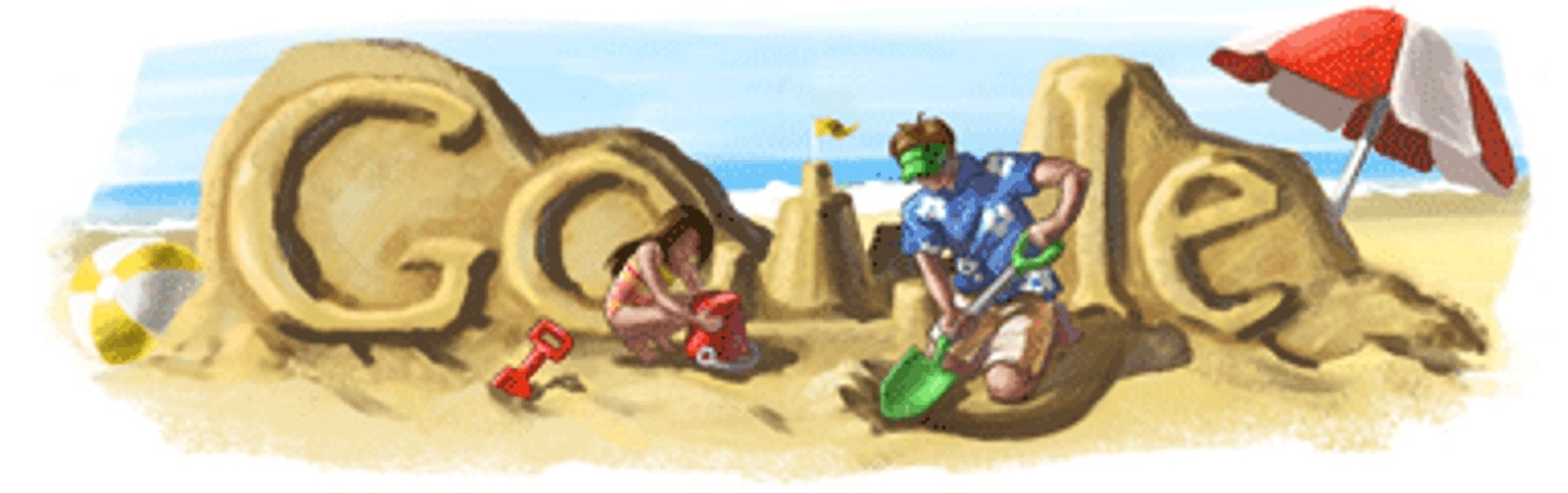 Fathers day 2009 Google Doodle