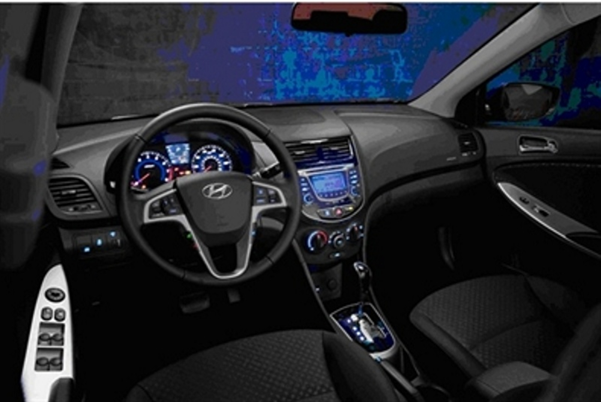 Hyundai Accent Inside