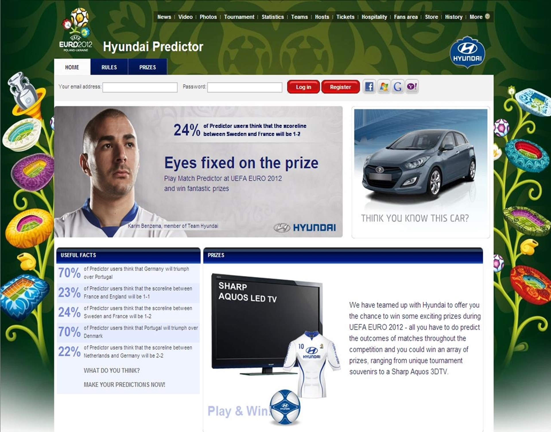 Hyundai UEFA Predictor