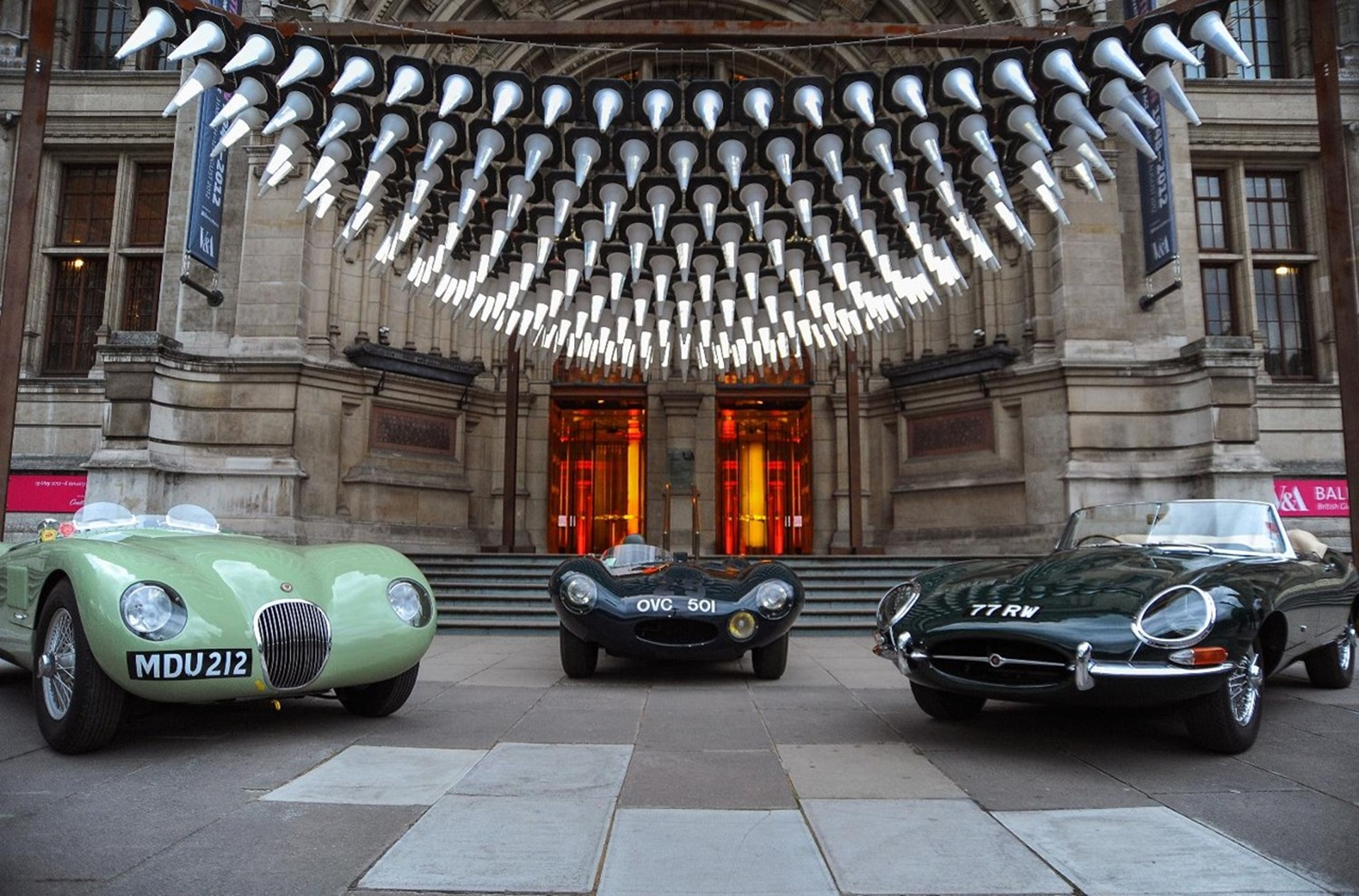 Jaguar British Design Exhibition