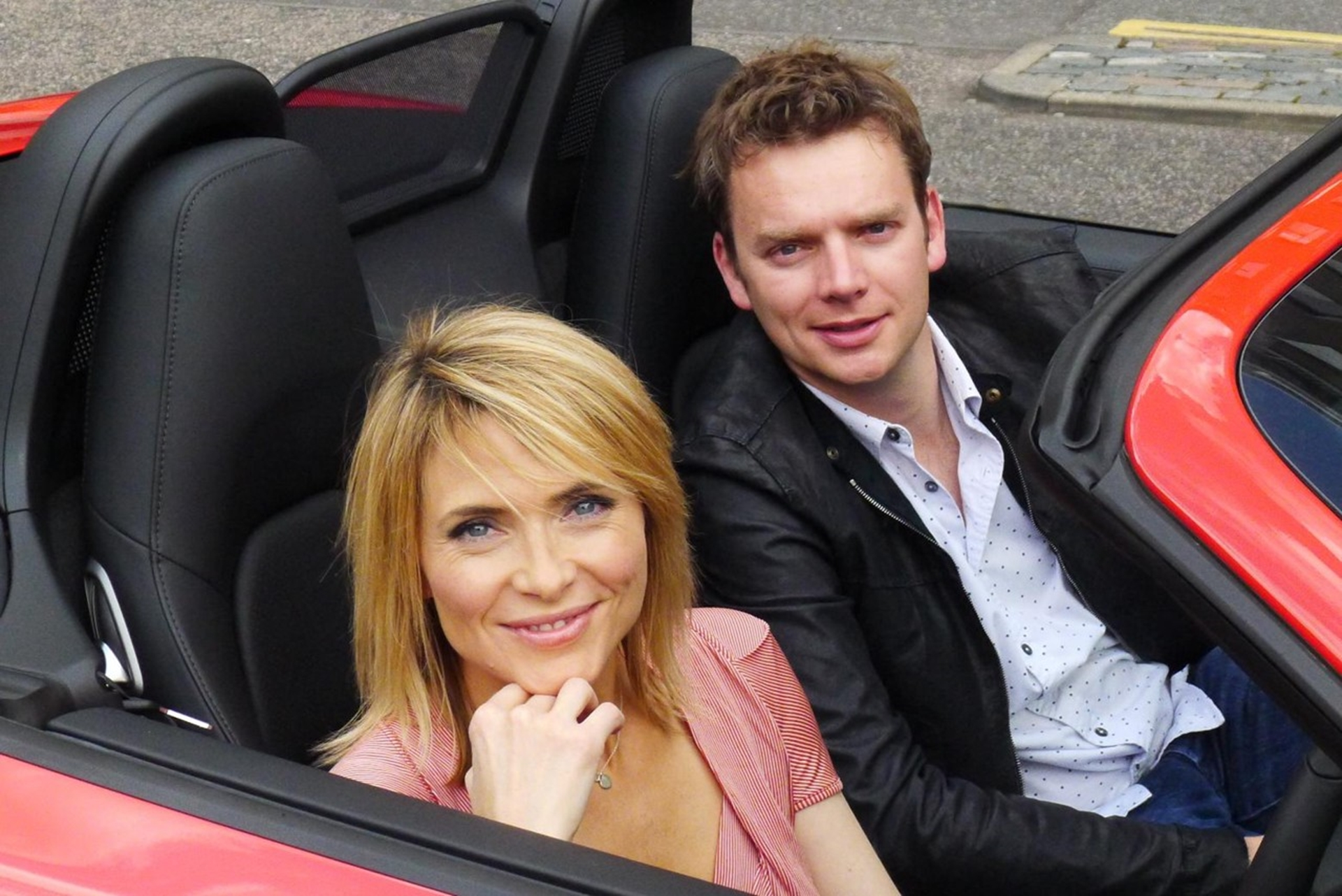 Lisa Rogers and Alistair Weaver