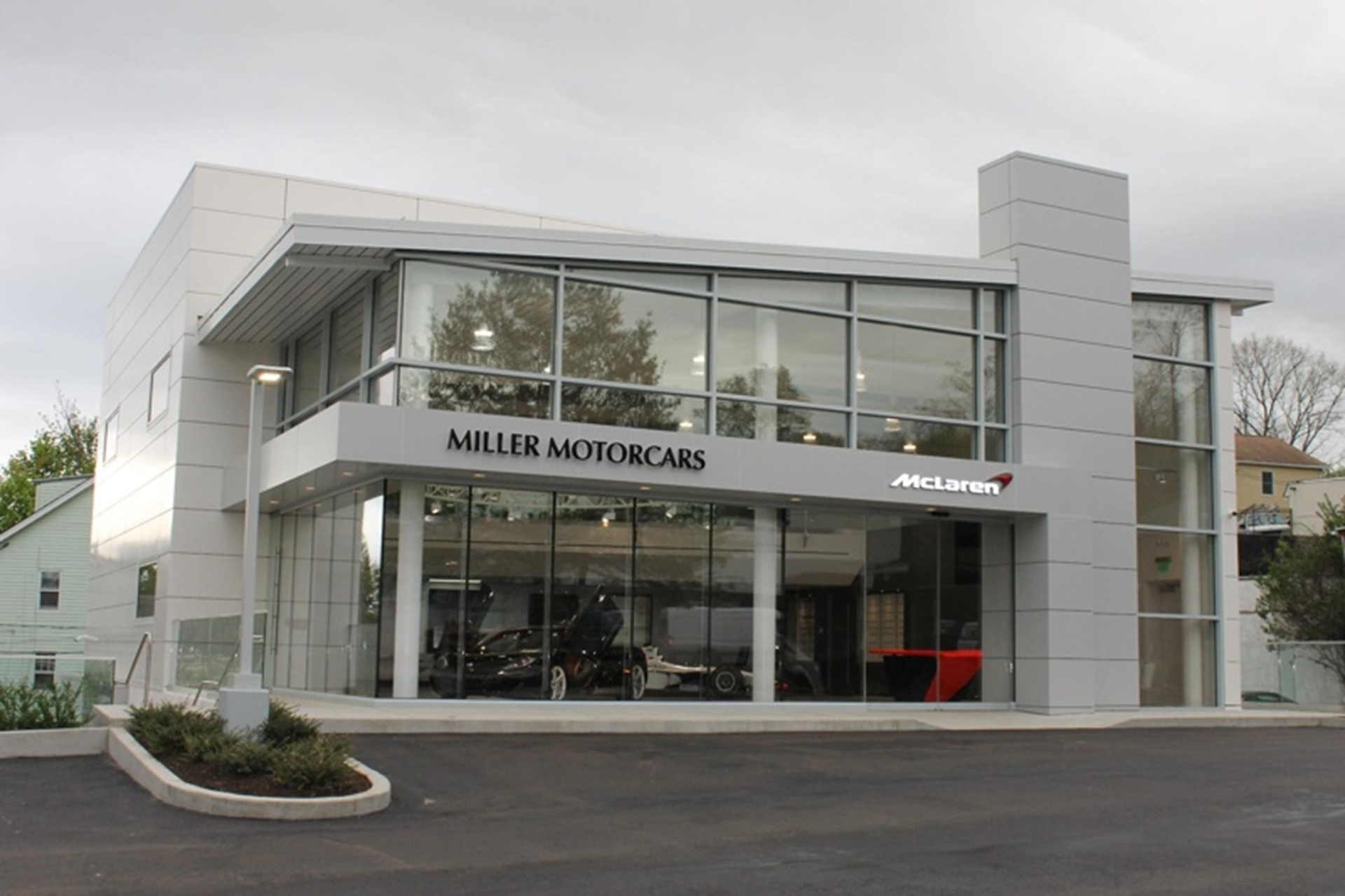 Grand Opening Event Marks The Arrival Of Mclaren
