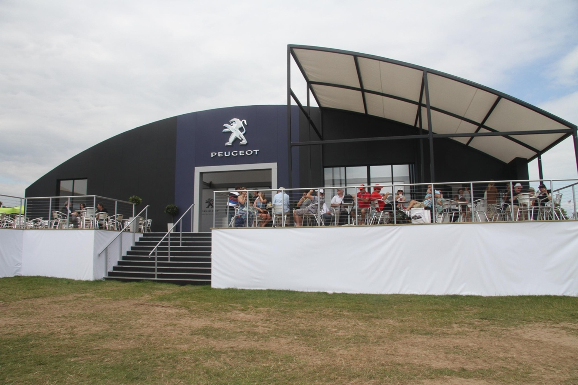 Peugeot Stand Goodwood Festival