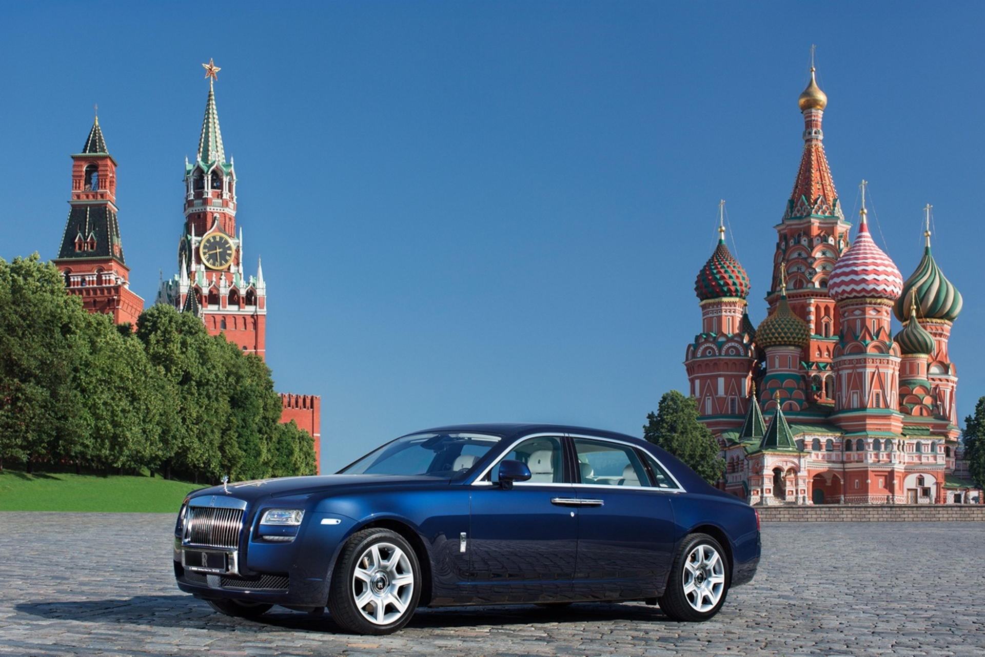 Rolls-Royce Moscow Russia