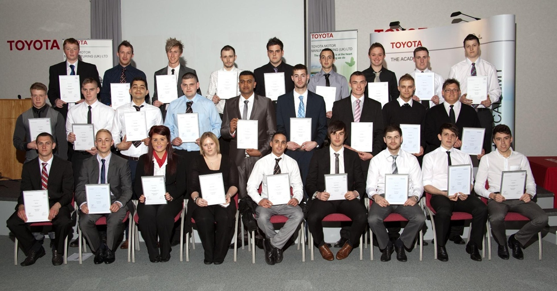 Toyota Celebrates Apprentices