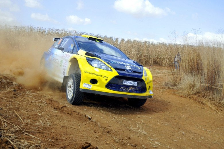 Jon William And Cobus Vrey Sasol Ford Fiesta In The Lead