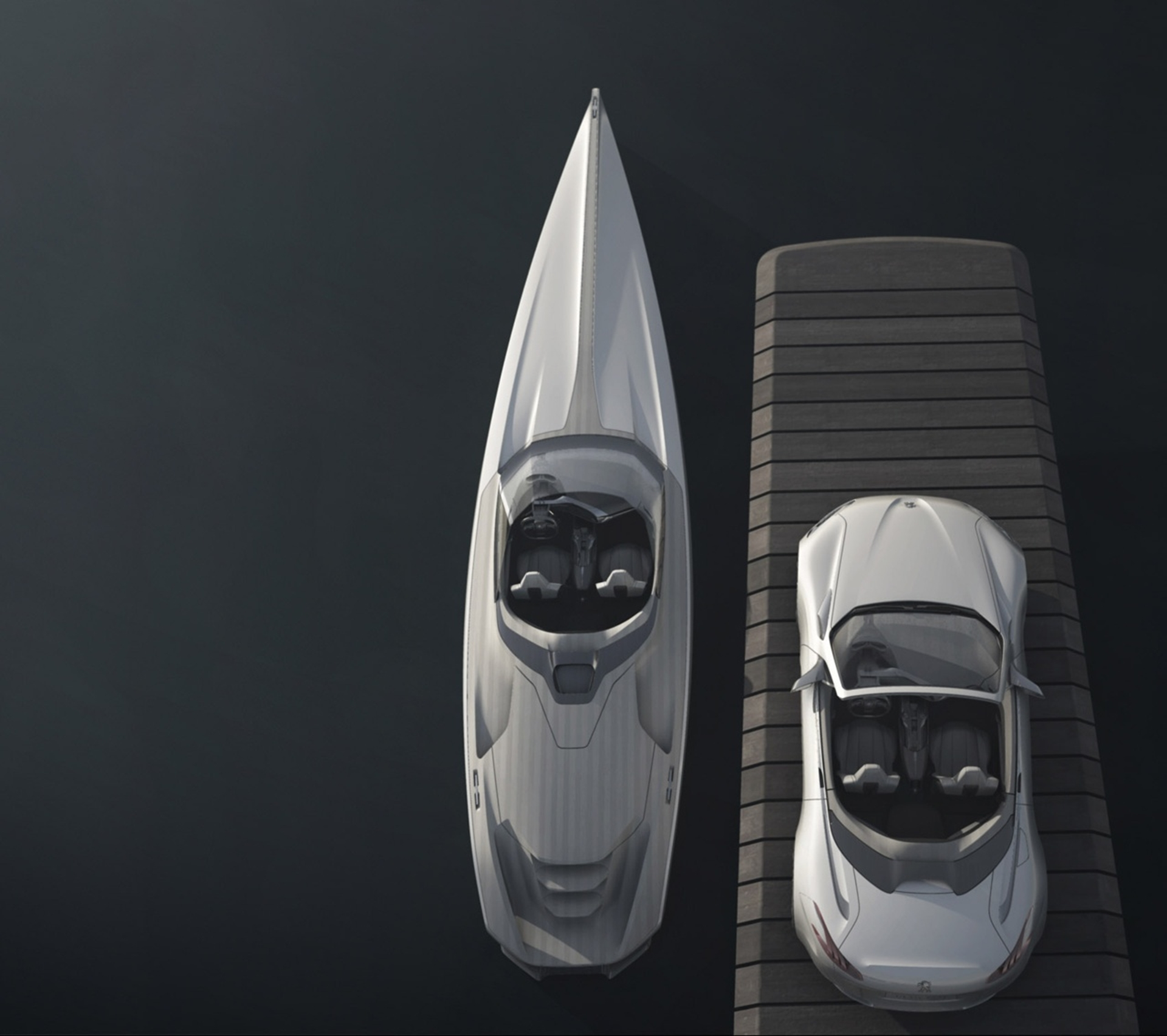peugeot concept powerboat 2012