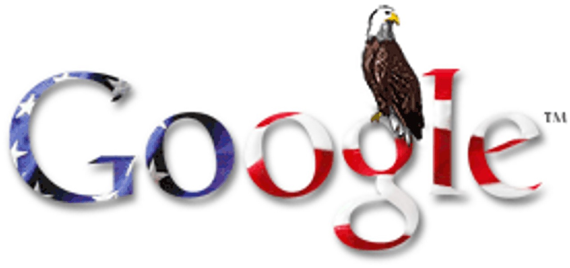 4th of July Google Doodle 2004