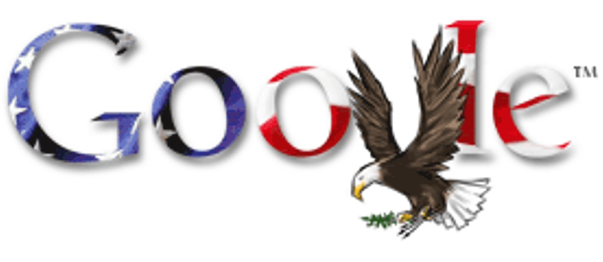 4th of July Google Doodle 2007