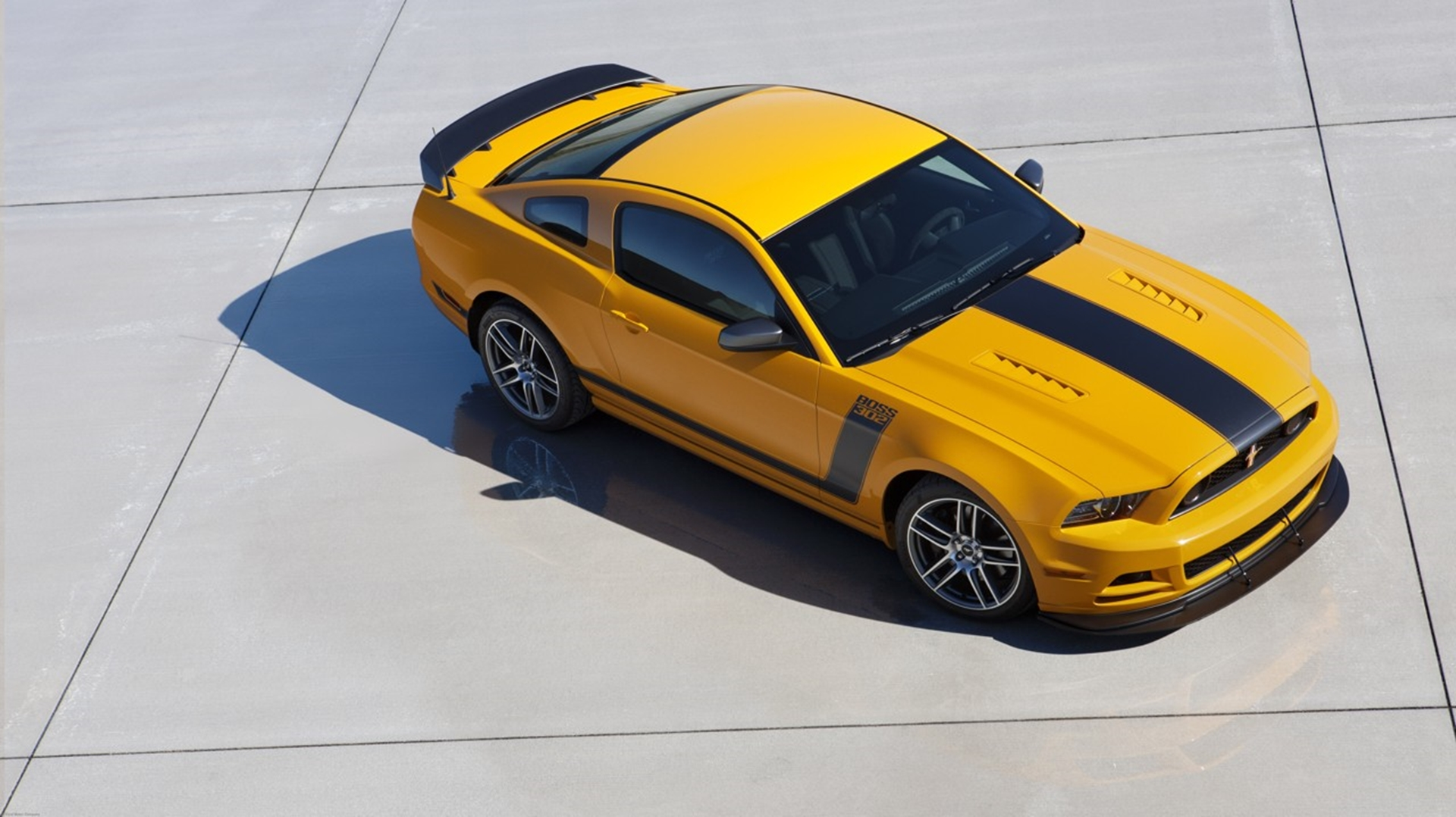 Ford motor company to provide custom 2013 mustang boss 302 for Ford motor company charitable donations