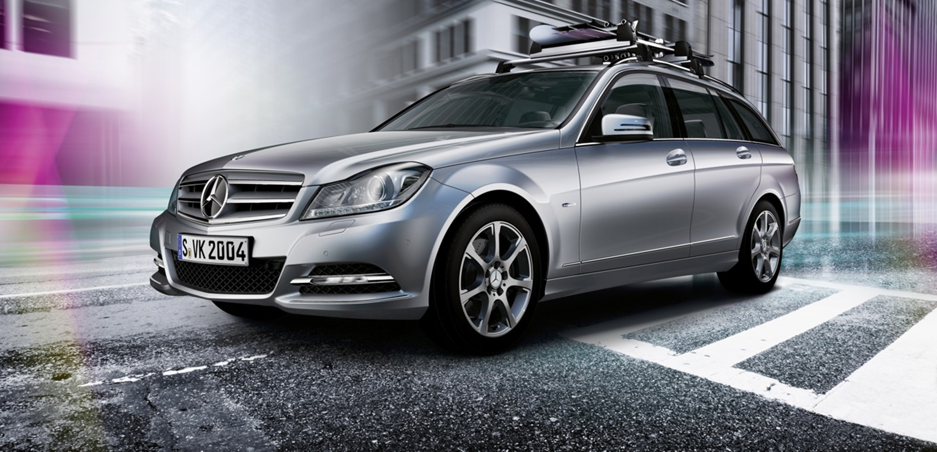 3d car shows genuine roof boxes for mercedes benz for Mercedes benz roof box