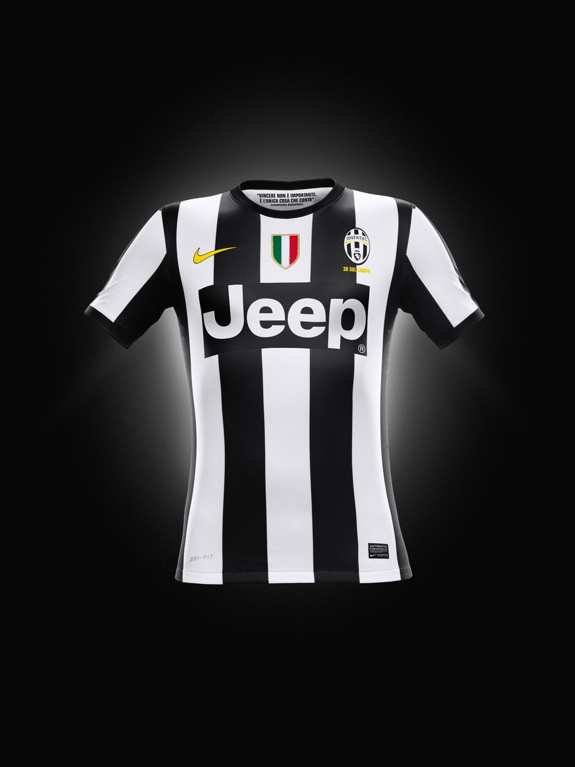The Jeep® Brand Debuts on the Juventus Home Jersey