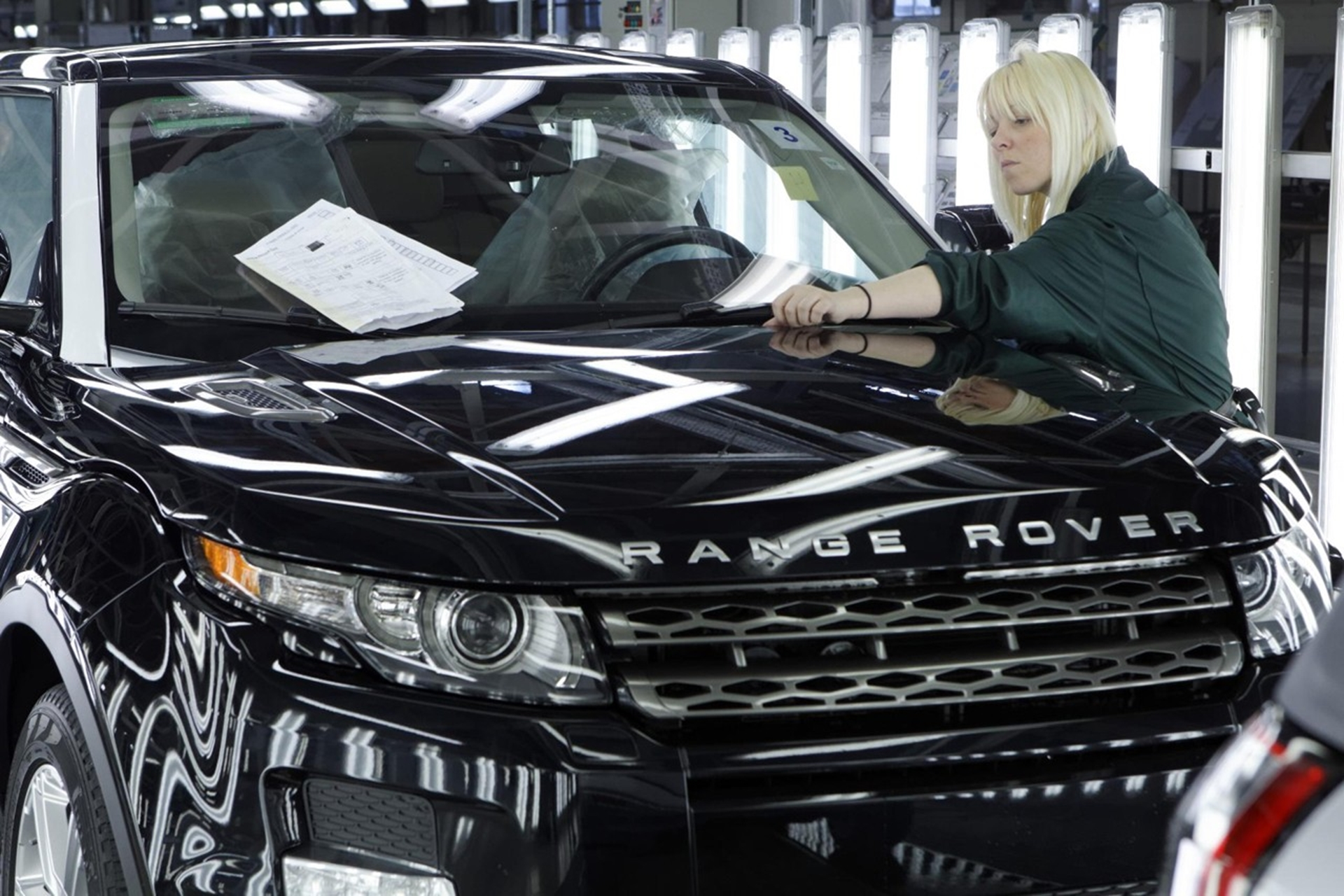 Land Rover Evoque production